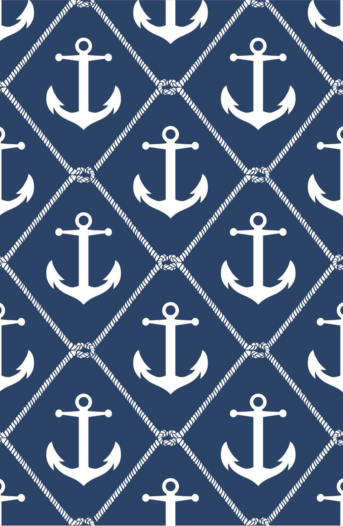 'Set Sail'  Peel & Stick Vinyl Wallpaper,                             Main thumbnail 1, color,                             Blue - Set Sail