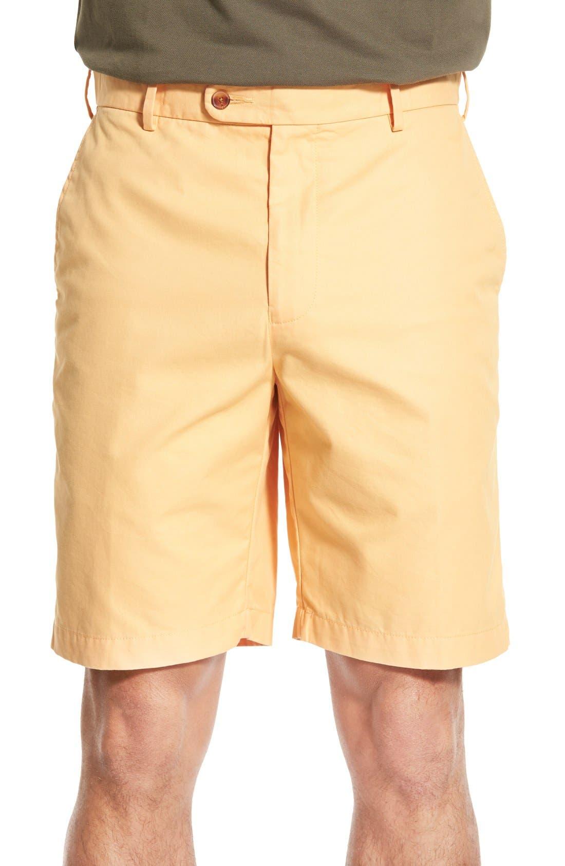 Main Image - Peter Millar Pima Cotton Twill Shorts