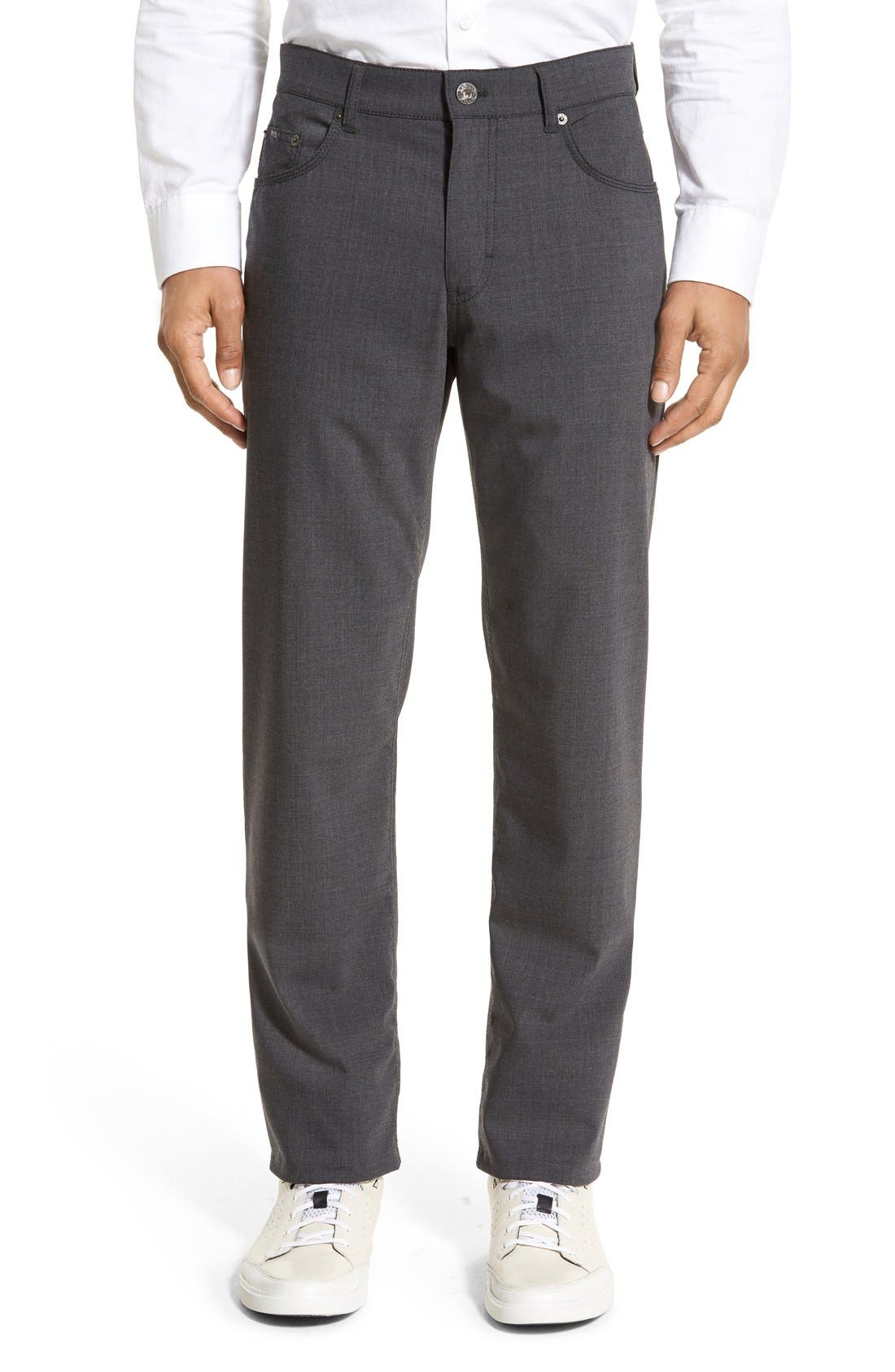 Brax 'Manager' Five-Pocket Wool Pants