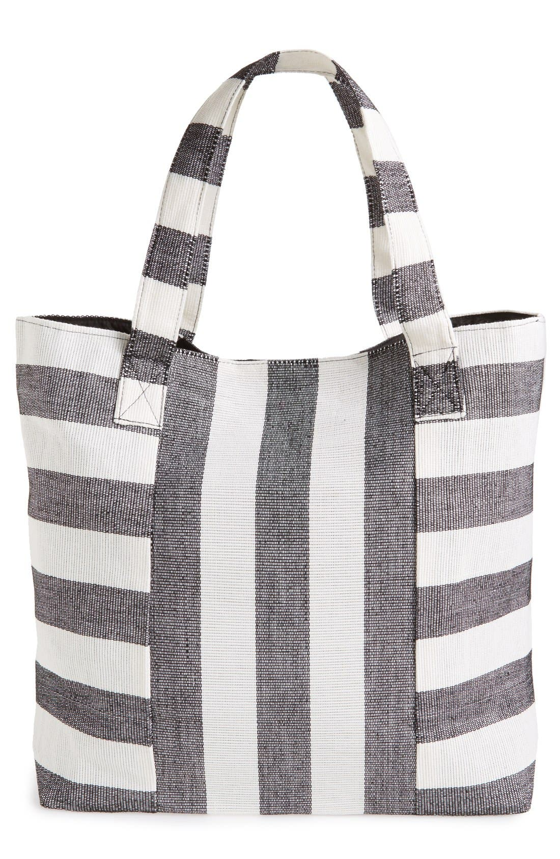 Alternate Image 3  - Cesca Stripe Canvas Tote
