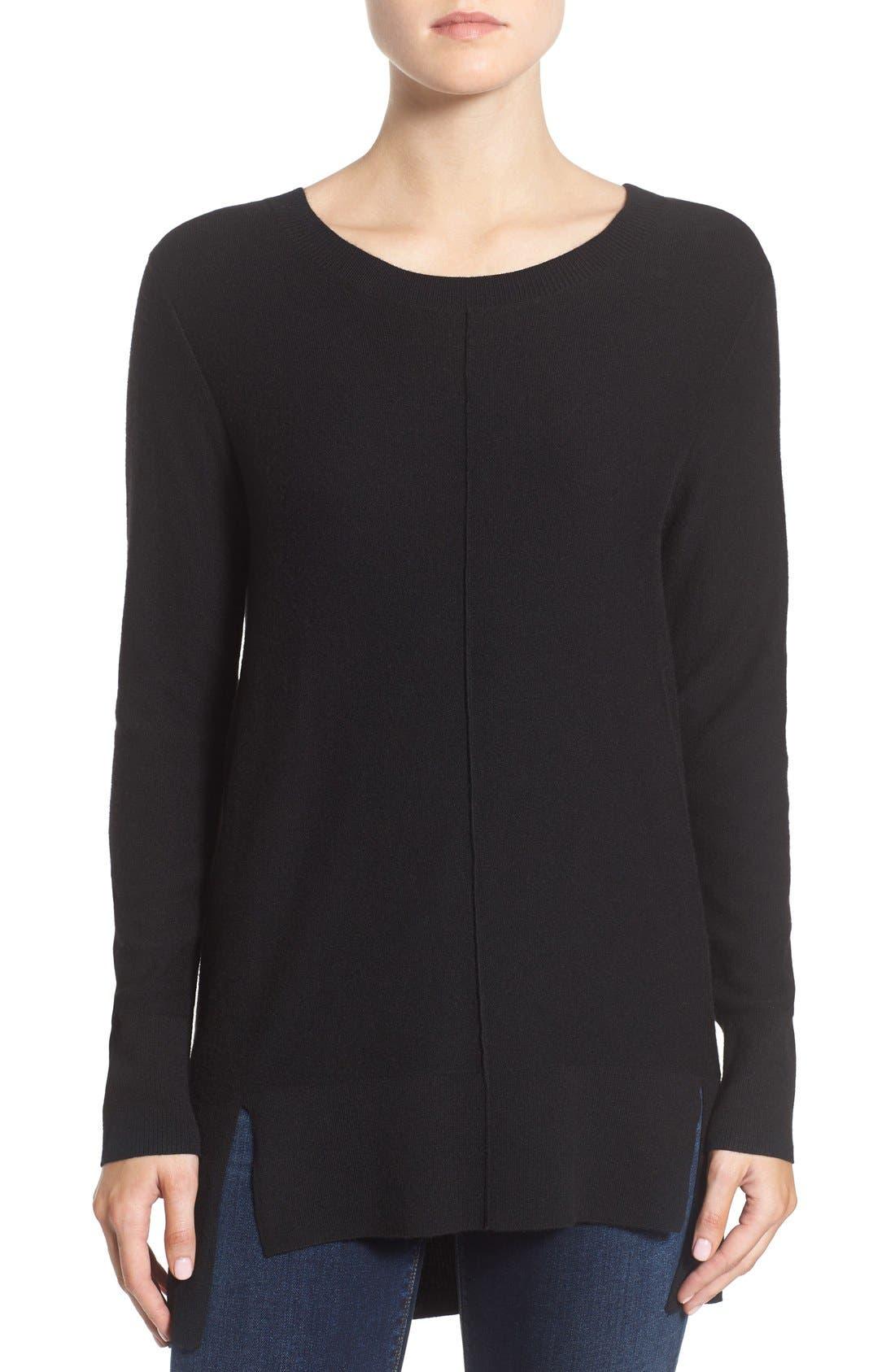 Main Image - Trouvé Side Slit Sweater