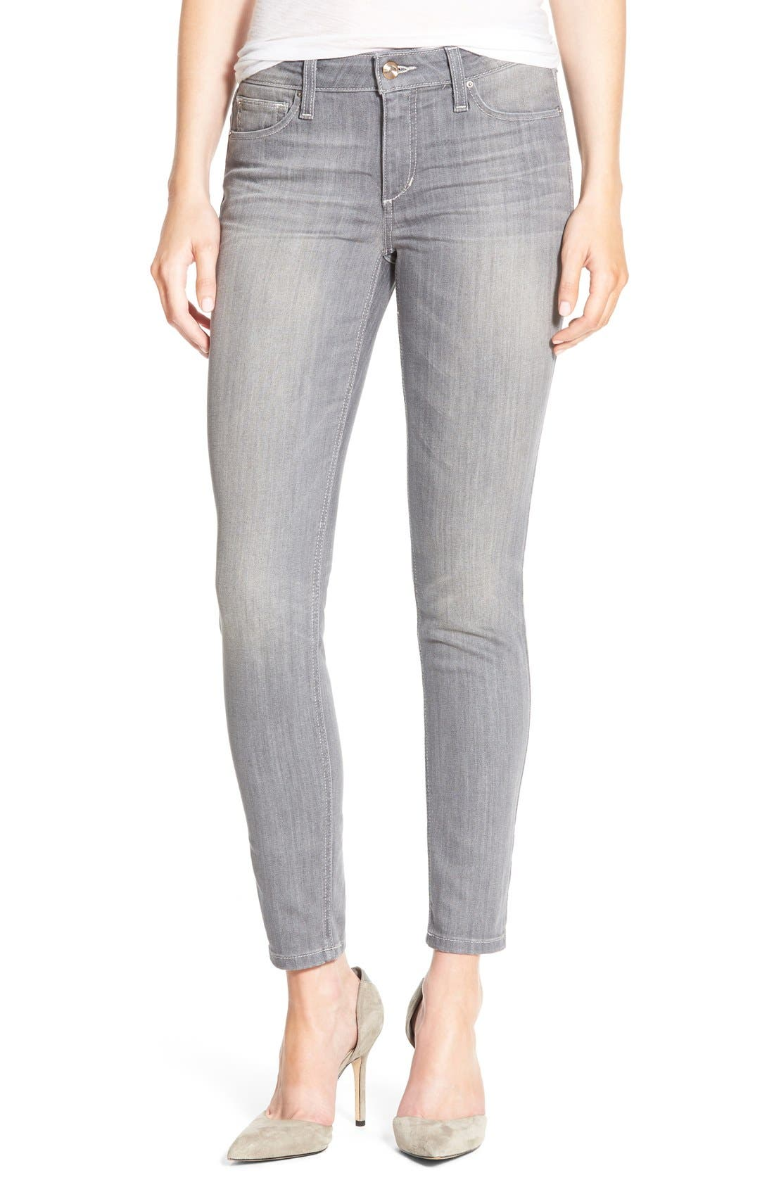 Main Image - Joe's 'Cool Off - Vixen' Ankle Skinny Jeans with Phone Pocket (Justina)