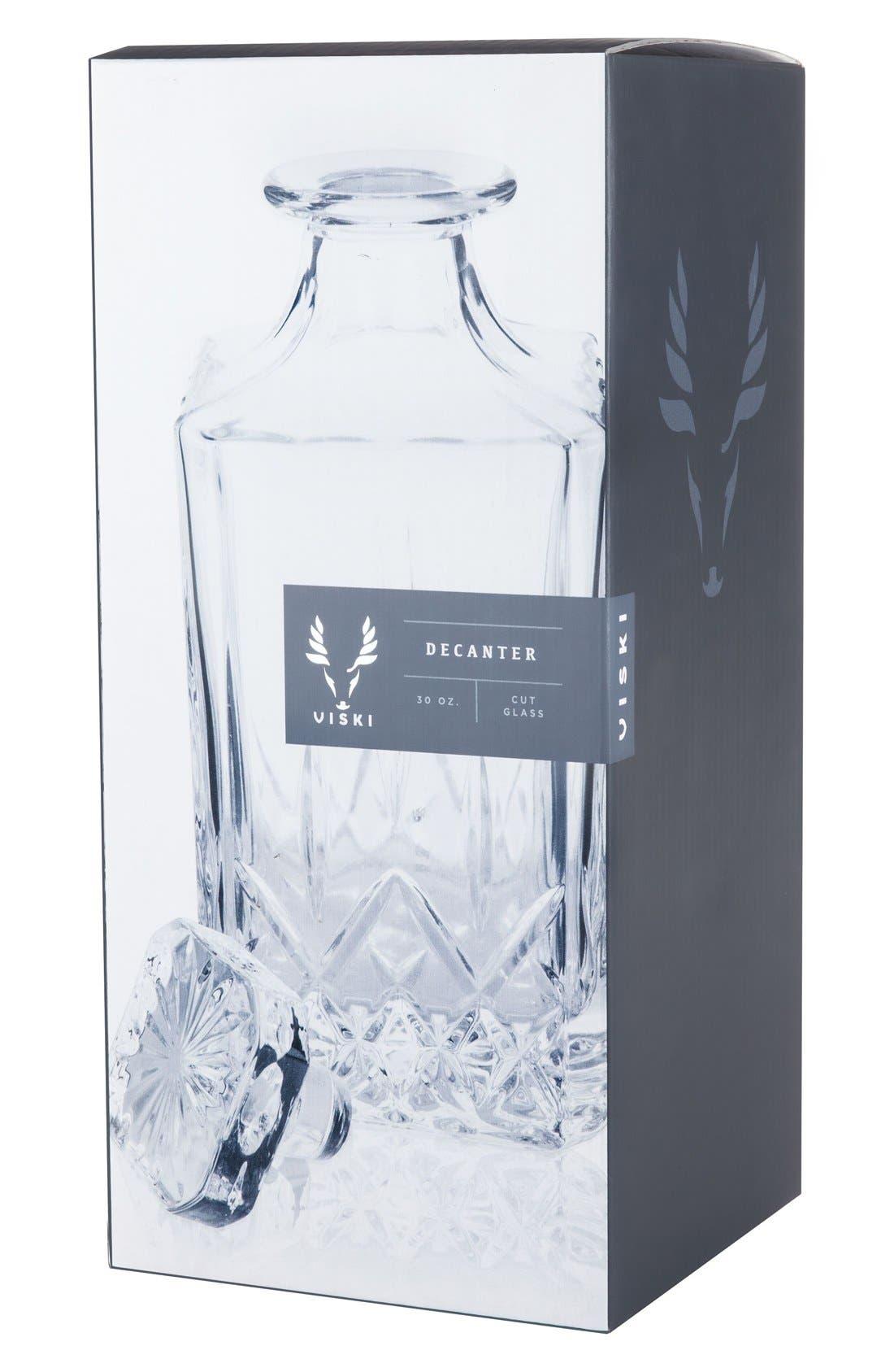 Alternate Image 2  - Viski by True Fabrications Glass Wine Decanter