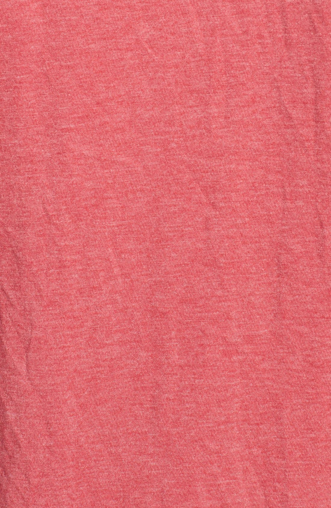 Alternate Image 5  - Red Jacket 'California Angels' Graphic V-Neck T-Shirt