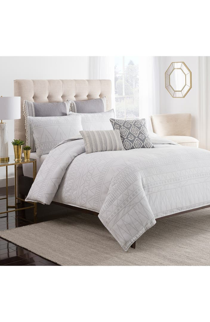 Cupcakes And Cashmere Moroccan Geo Duvet Cover Nordstrom