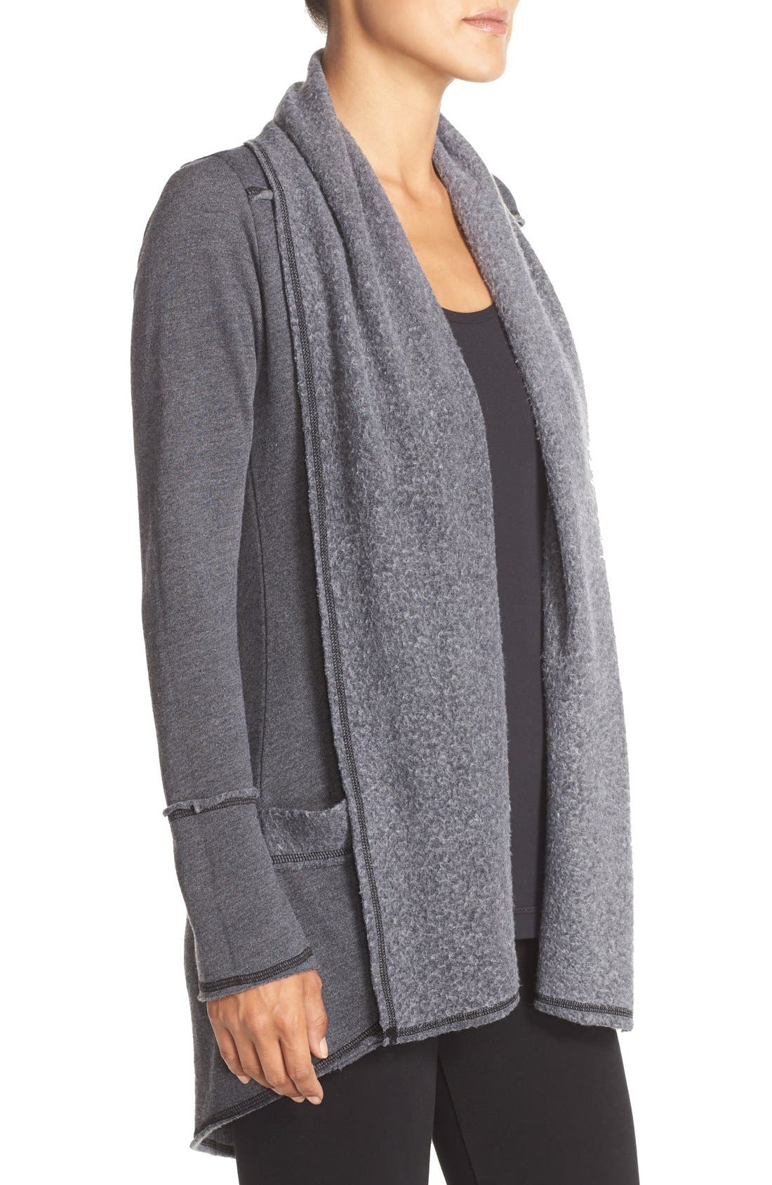 Alternate Image 3  - Hard Tail Slouchy Knit Cardigan