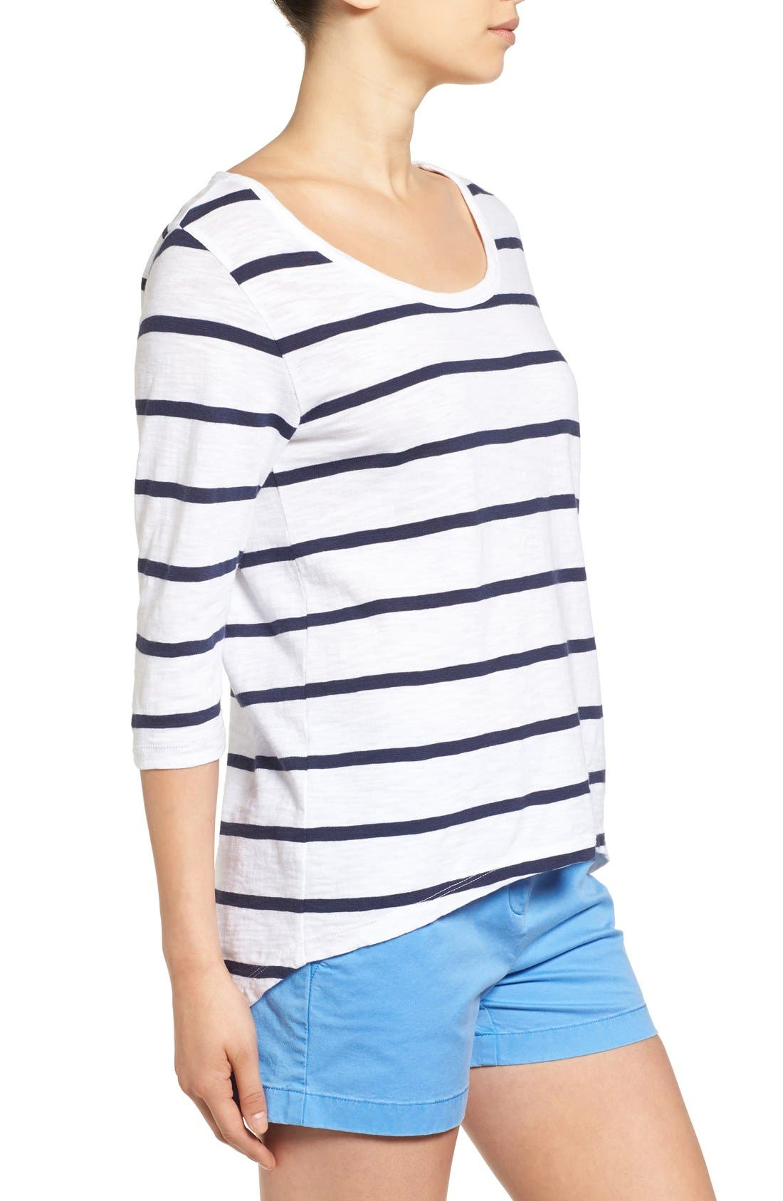 Alternate Image 3  - Vineyard Vines 'Anguilla' Stripe Tee
