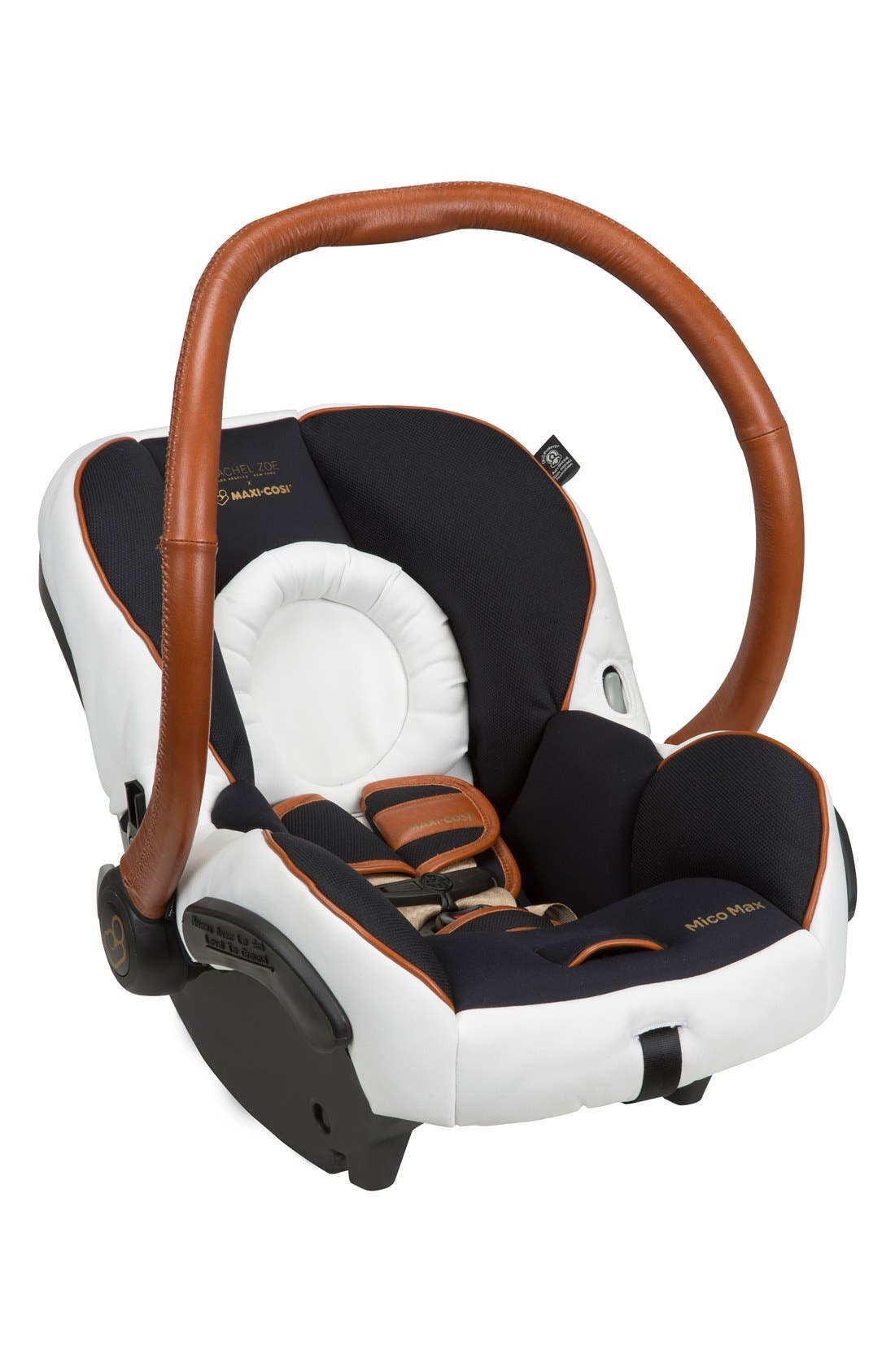 x Rachel Zoe Mico Max 30 - Special Edition Infant Car Seat,                             Main thumbnail 1, color,                             Black/ White