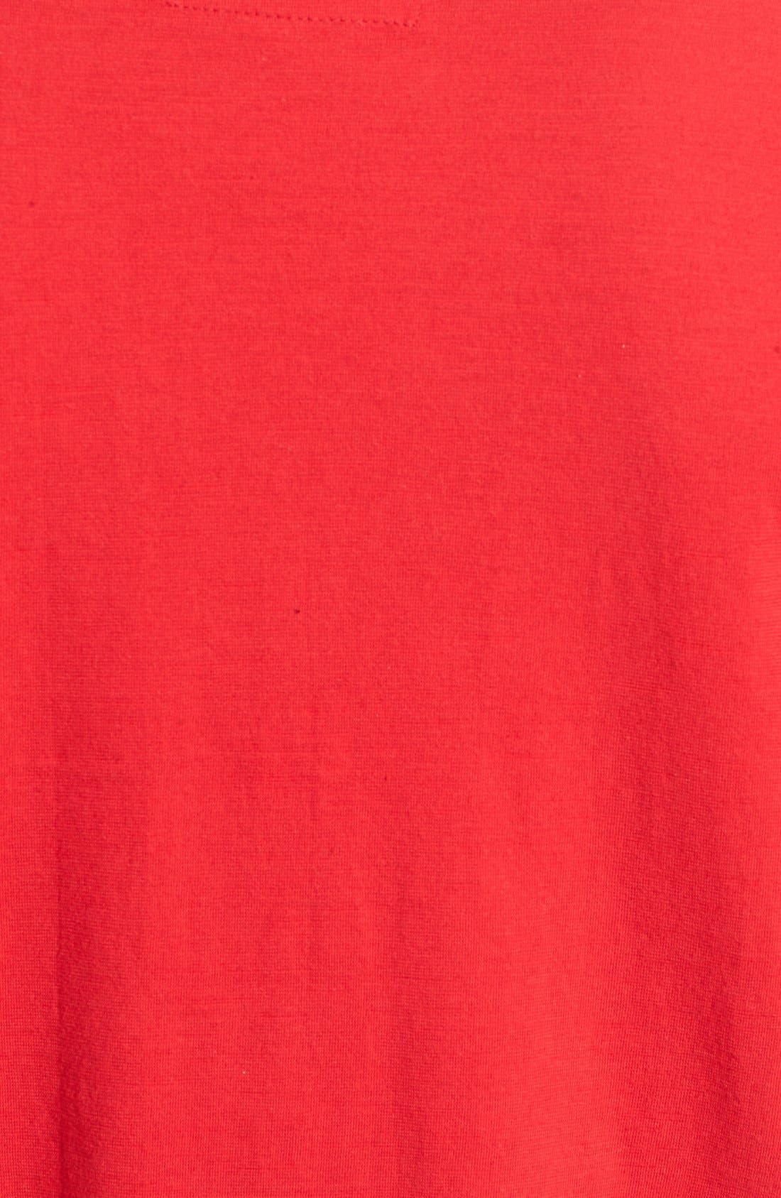 'Cincinnati Reds - Twofold' Crewneck T-Shirt,                             Alternate thumbnail 5, color,                             Red