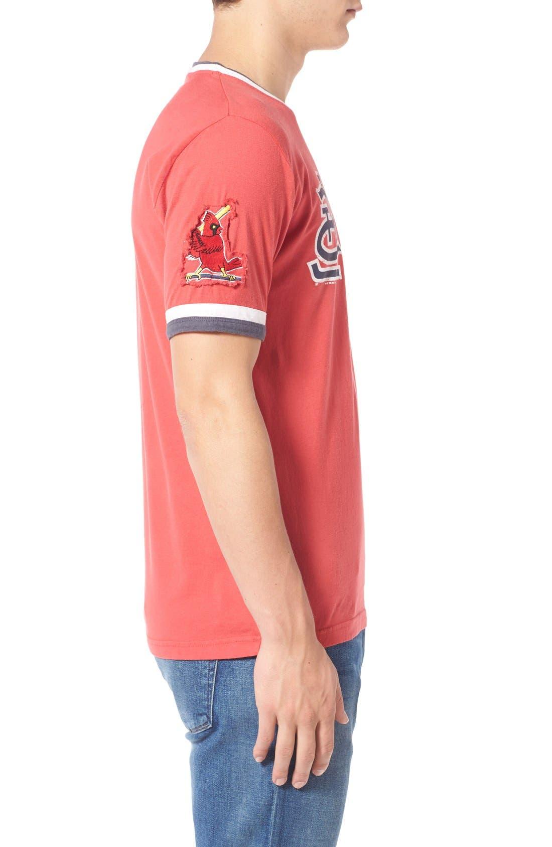 Alternate Image 3  - Red Jacket 'Saint Louis Cardinals - Remote Control' Trim Fit T-Shirt