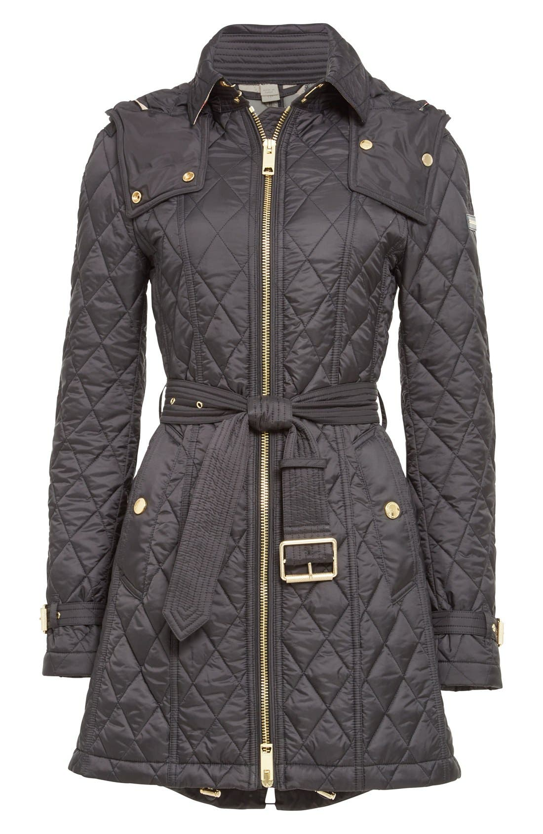 Alternate Image 4  - Burberry Bellbridge Technical Quilted Parka