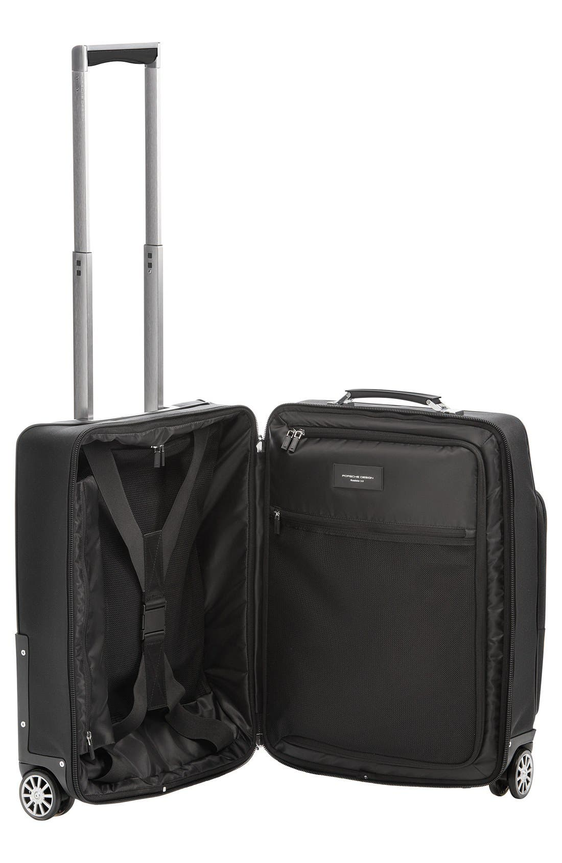 Roadster 550 Wheeled Carry-On,                             Alternate thumbnail 2, color,                             Black