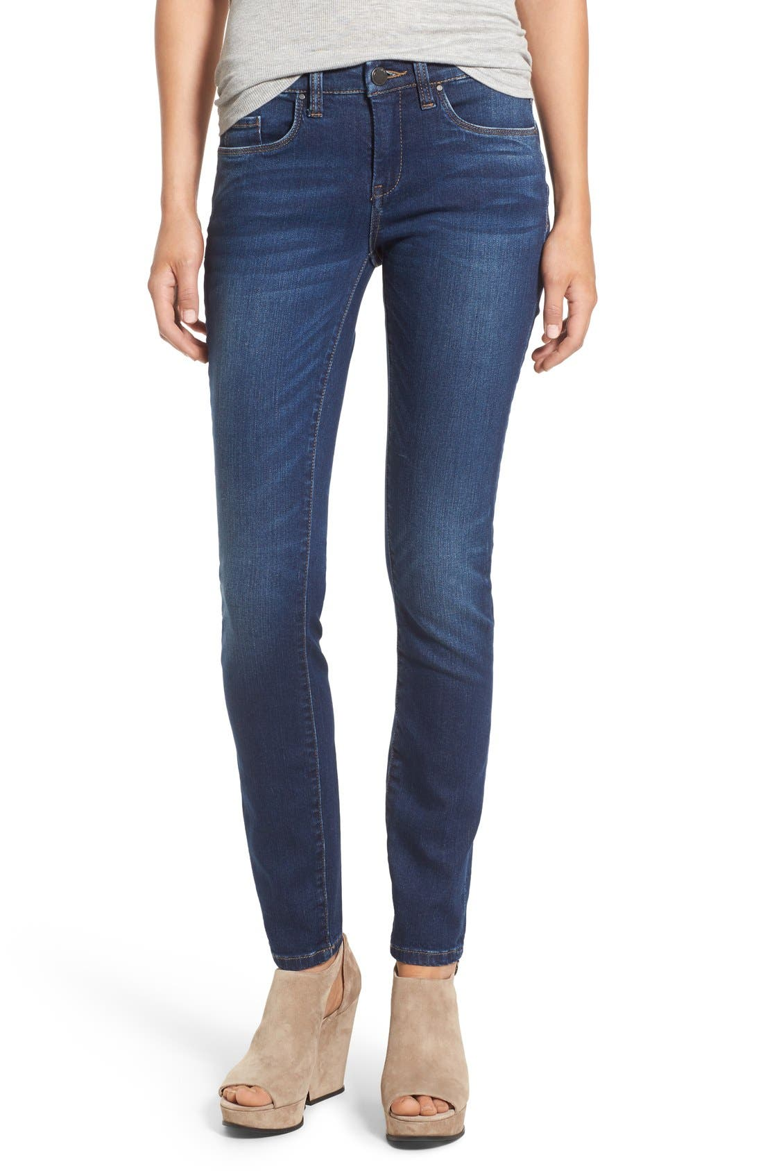 Main Image - BLANKNYC 'Buffering' Skinny Jeans (Call it Karma)