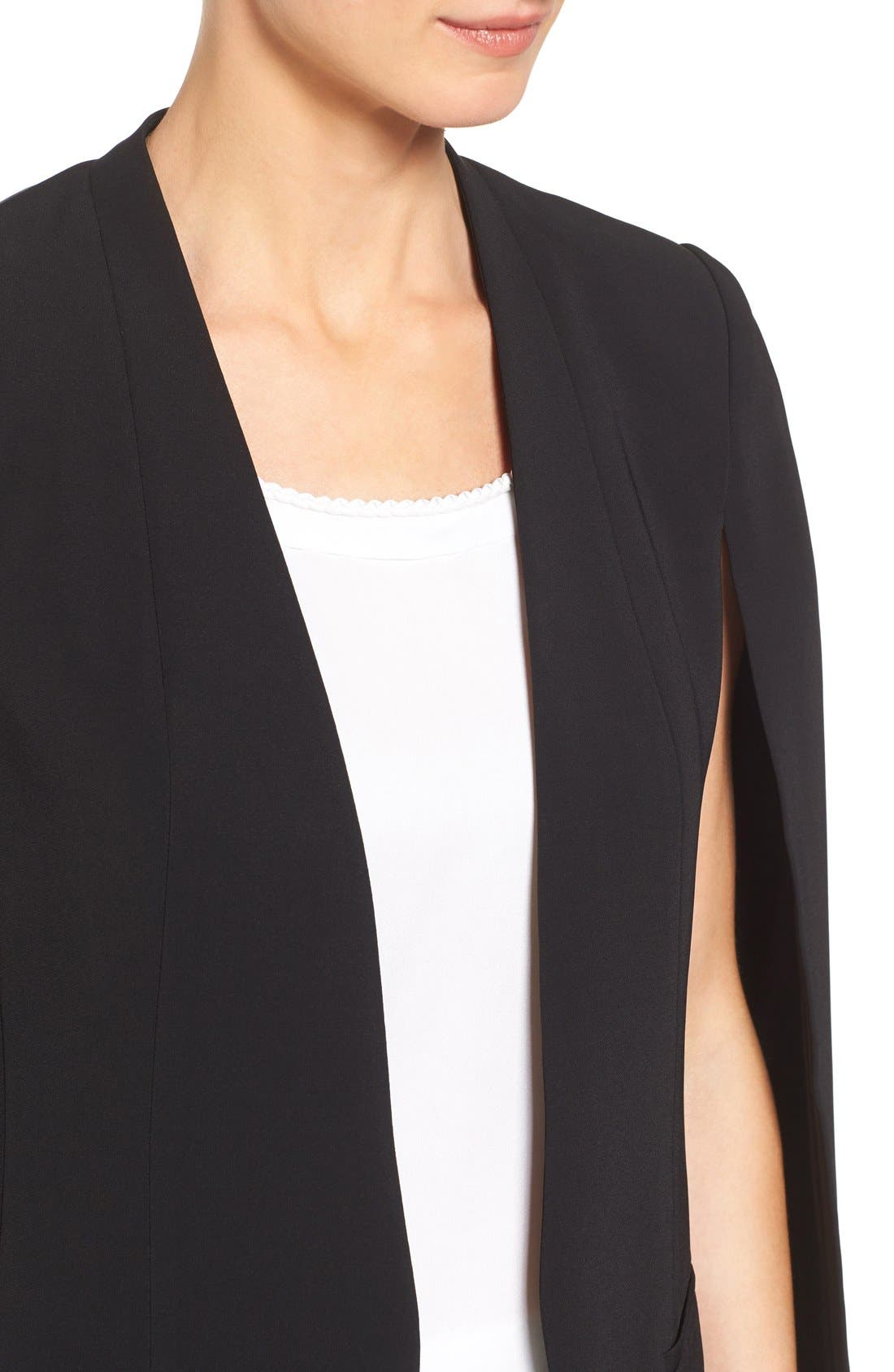 Alternate Image 4  - Kobi Halperin 'Perri' Open Front Blazer with Cape Sleeves