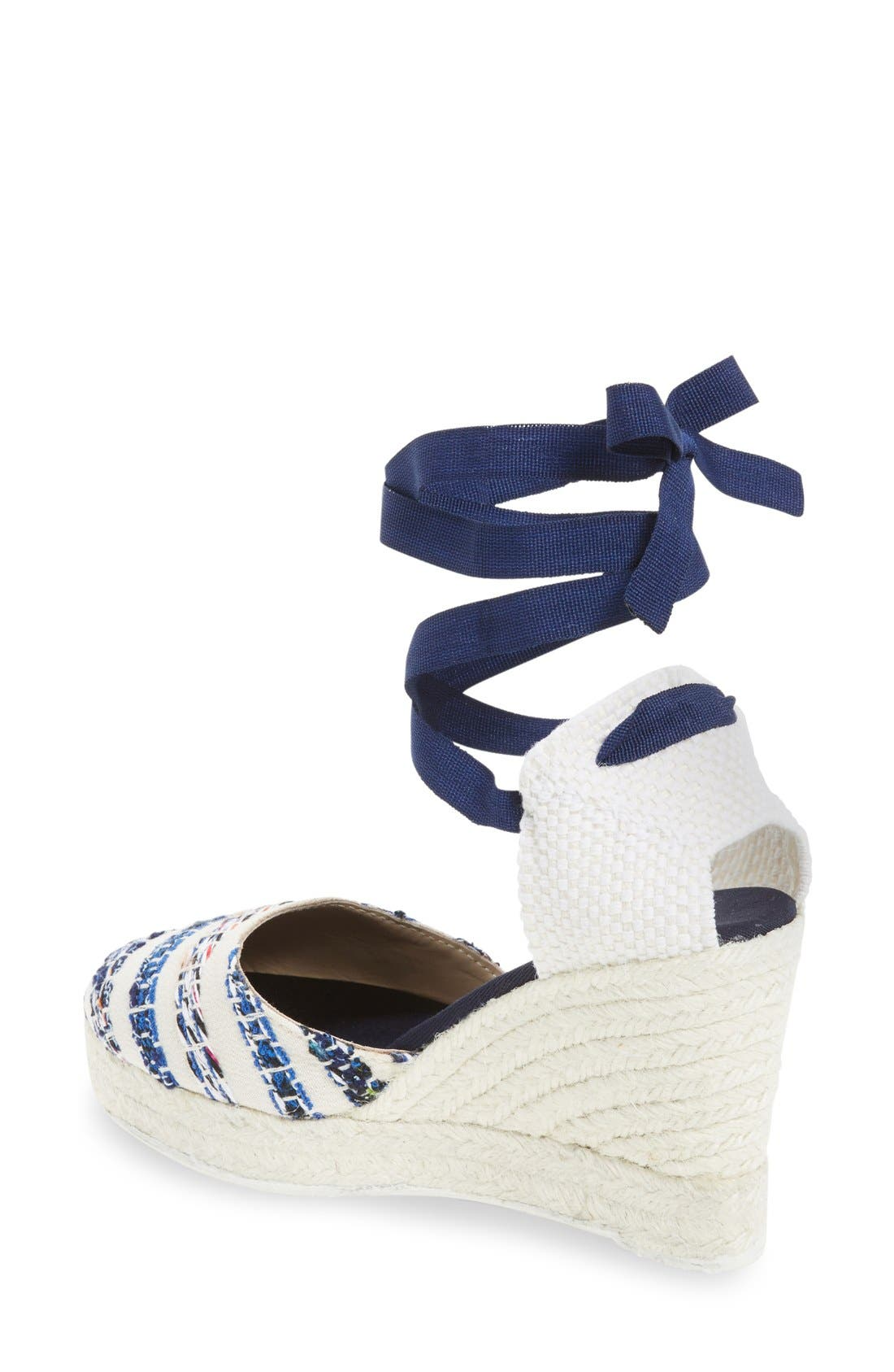 Alternate Image 2  - MANEBÍ 'Ibiza' Espadrille Wedge Sandal (Women)