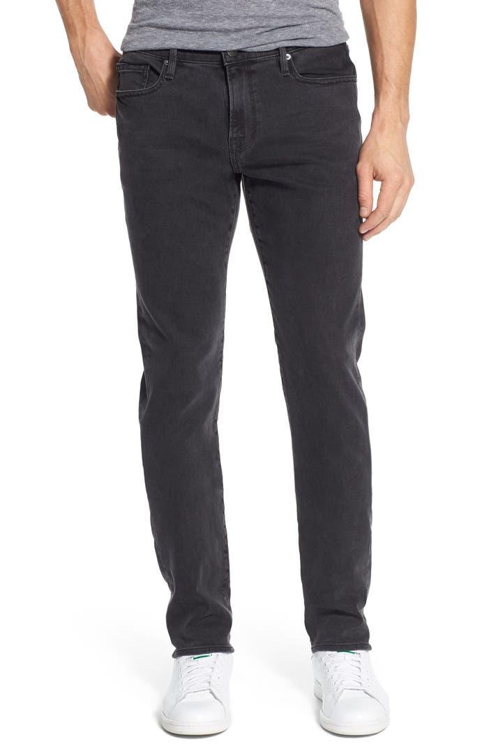 frame 39 l 39 homme 39 skinny fit jeans fade to grey nordstrom. Black Bedroom Furniture Sets. Home Design Ideas