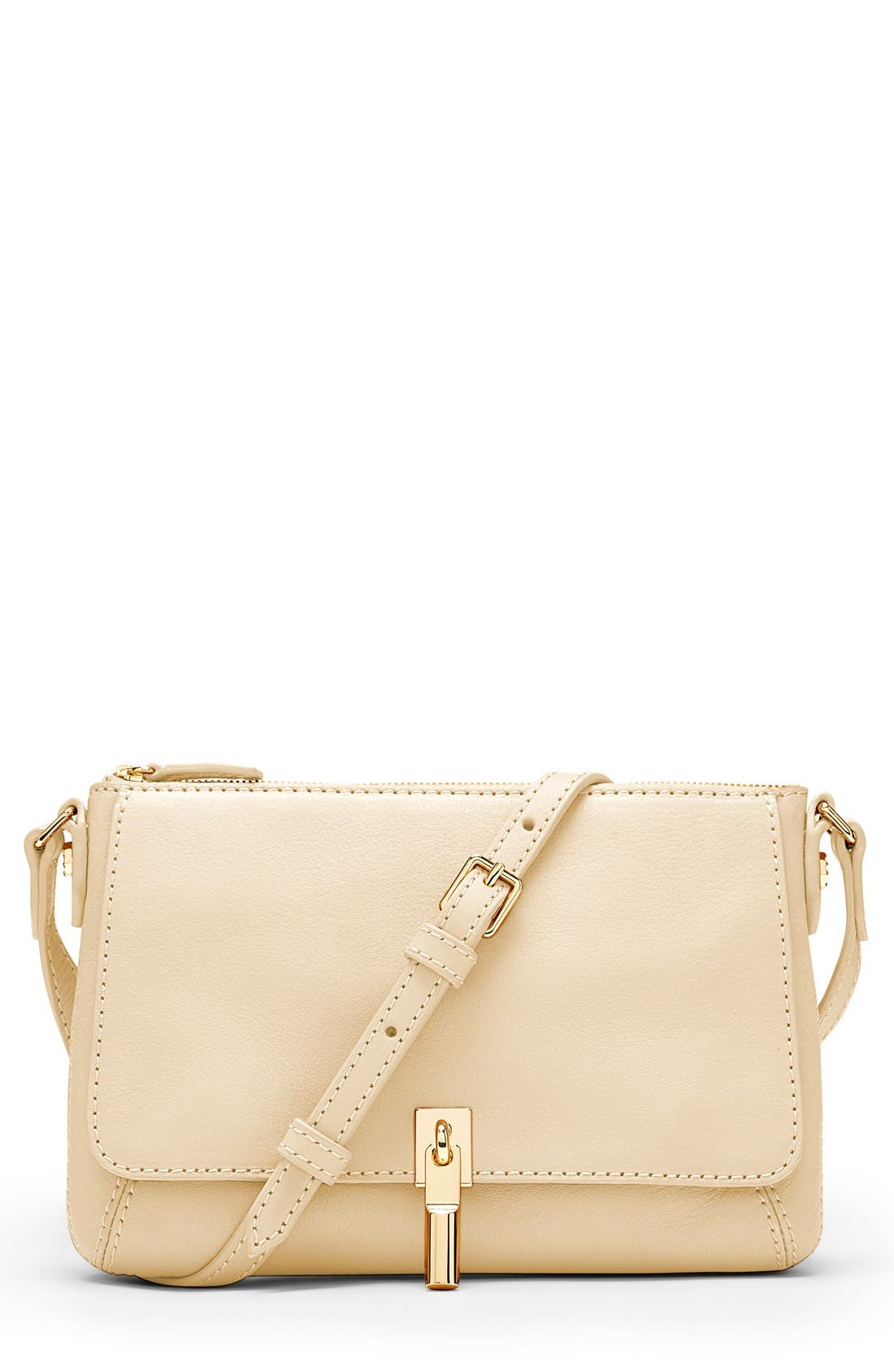 Alternate Image 1 Selected - Elizabeth and James 'Micro Cynnie' Leather Crossbody Bag