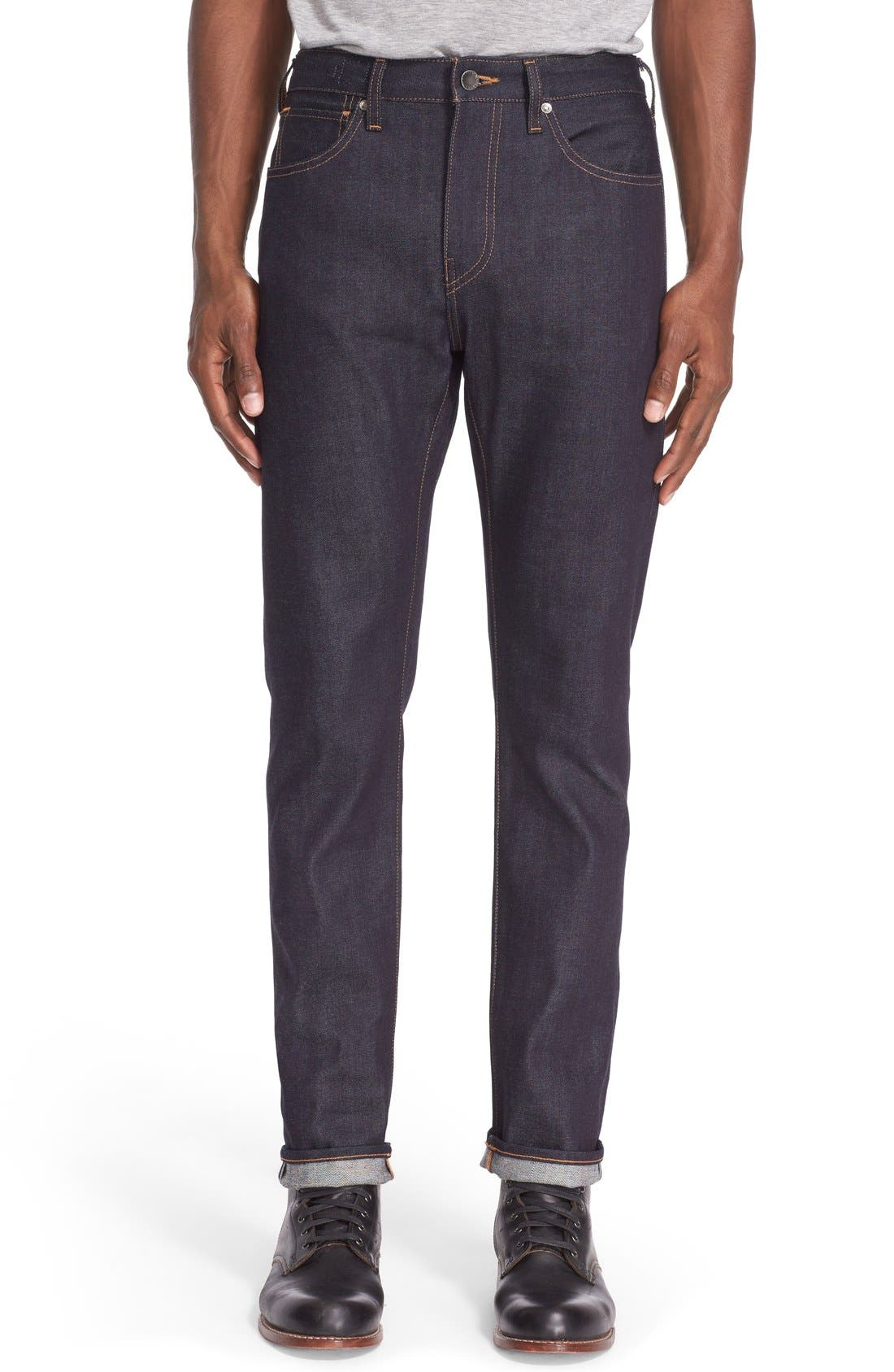 'Tack' Slim Fit Jeans,                         Main,                         color, Indigo