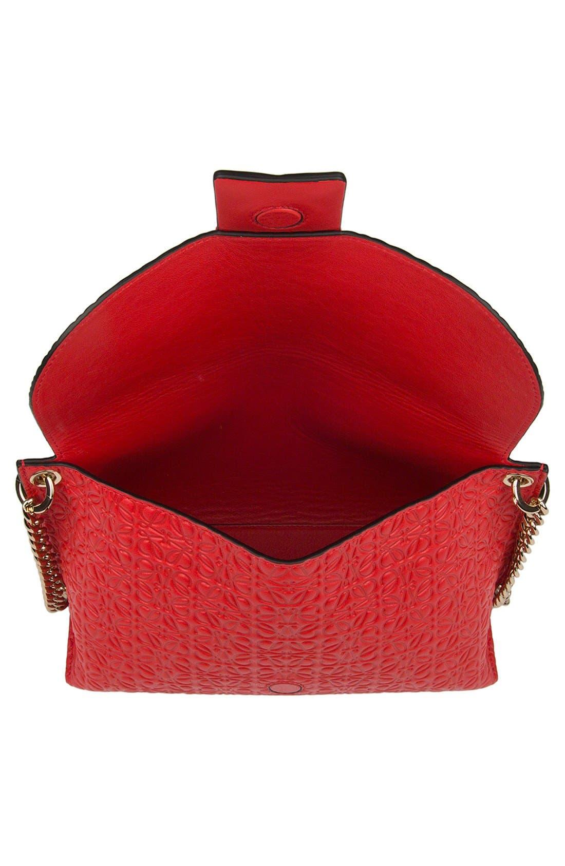 Alternate Image 3  - Loewe 'Avenue' Embossed Calfskin Leather Crossbody Bag