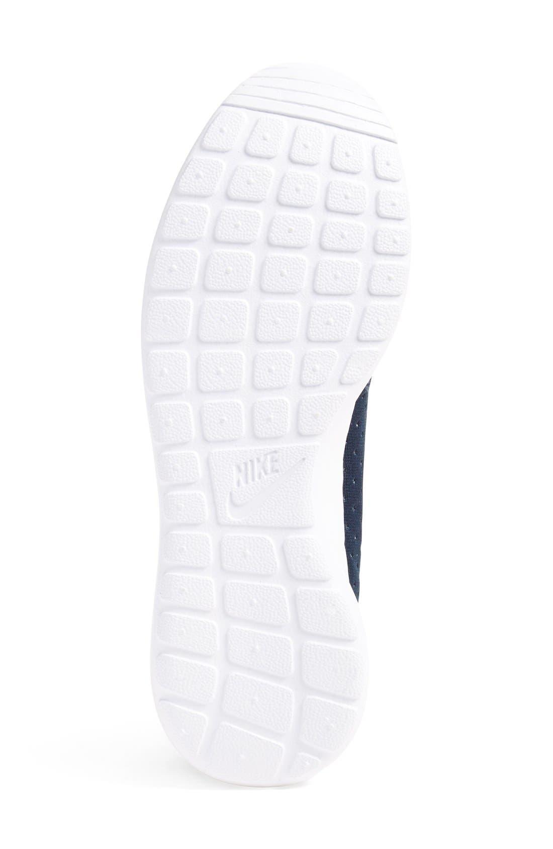 'Roshe One SE' Sneaker,                             Alternate thumbnail 5, color,                             Obsidian/ Obsidian/ Grey