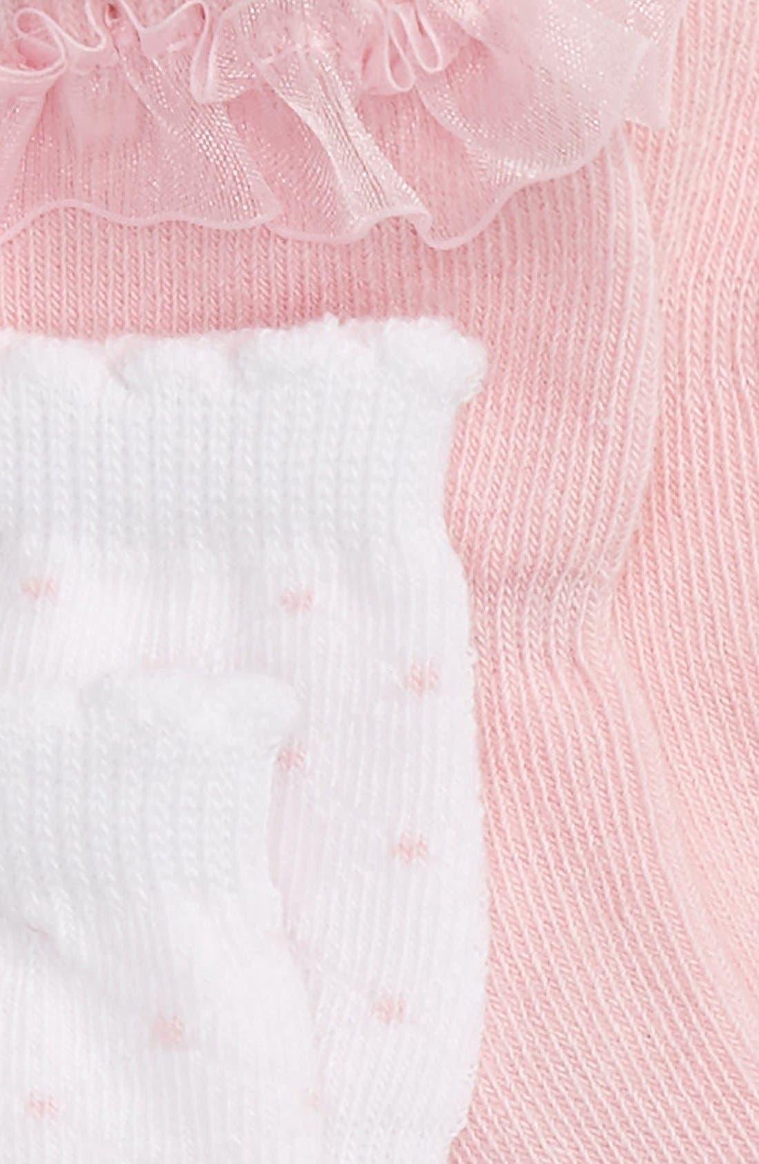 Socks,                             Alternate thumbnail 2, color,                             Pink