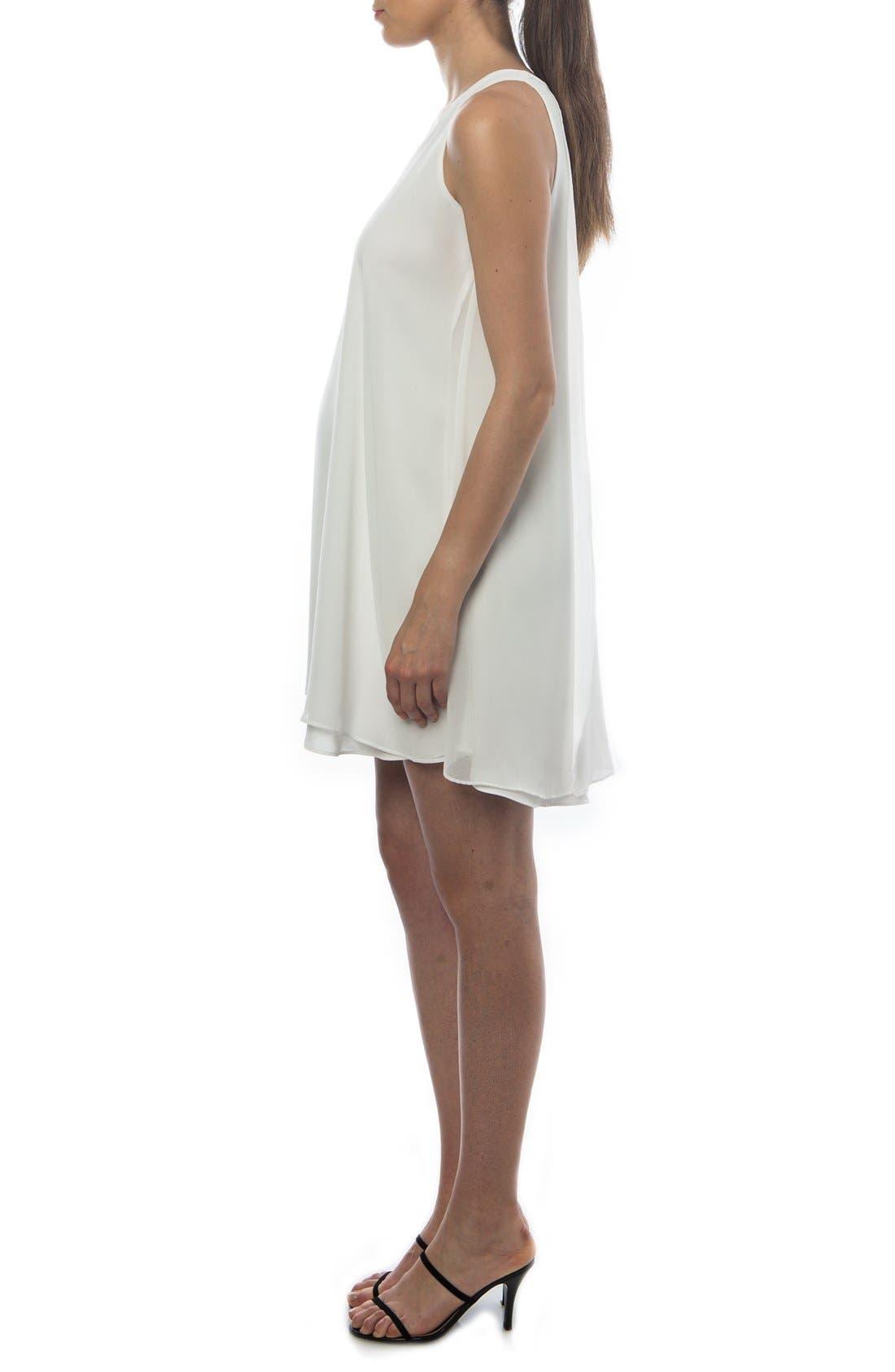 Alternate Image 3  - PIETRO BRUNELLI 'Lago Di Como' High/Low Maternity Dress