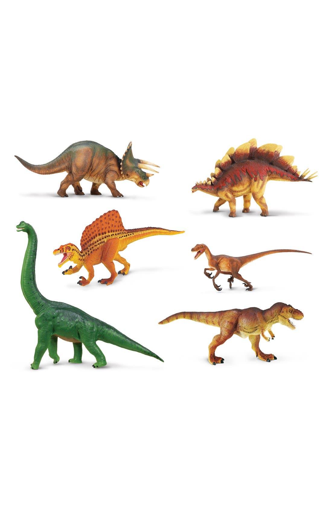 Dinosaur Figurines,                         Main,                         color, Green