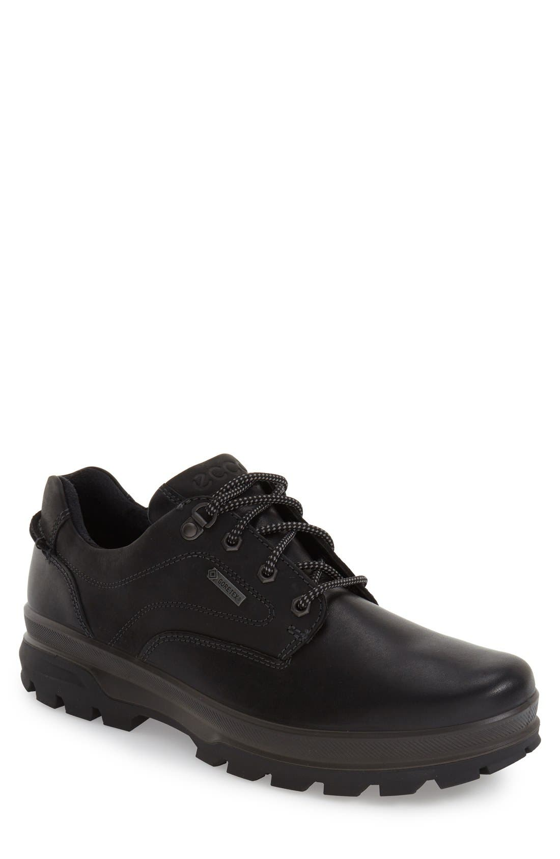 'Rugged Track GTX' Oxford,                         Main,                         color, Black/ Black Leather
