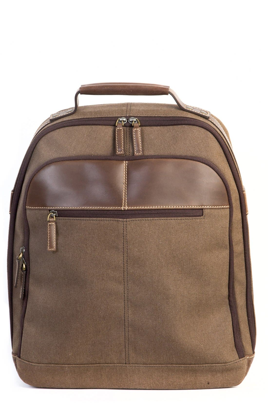 'Bryant LTE' Backpack,                             Main thumbnail 1, color,                             Heather Brown
