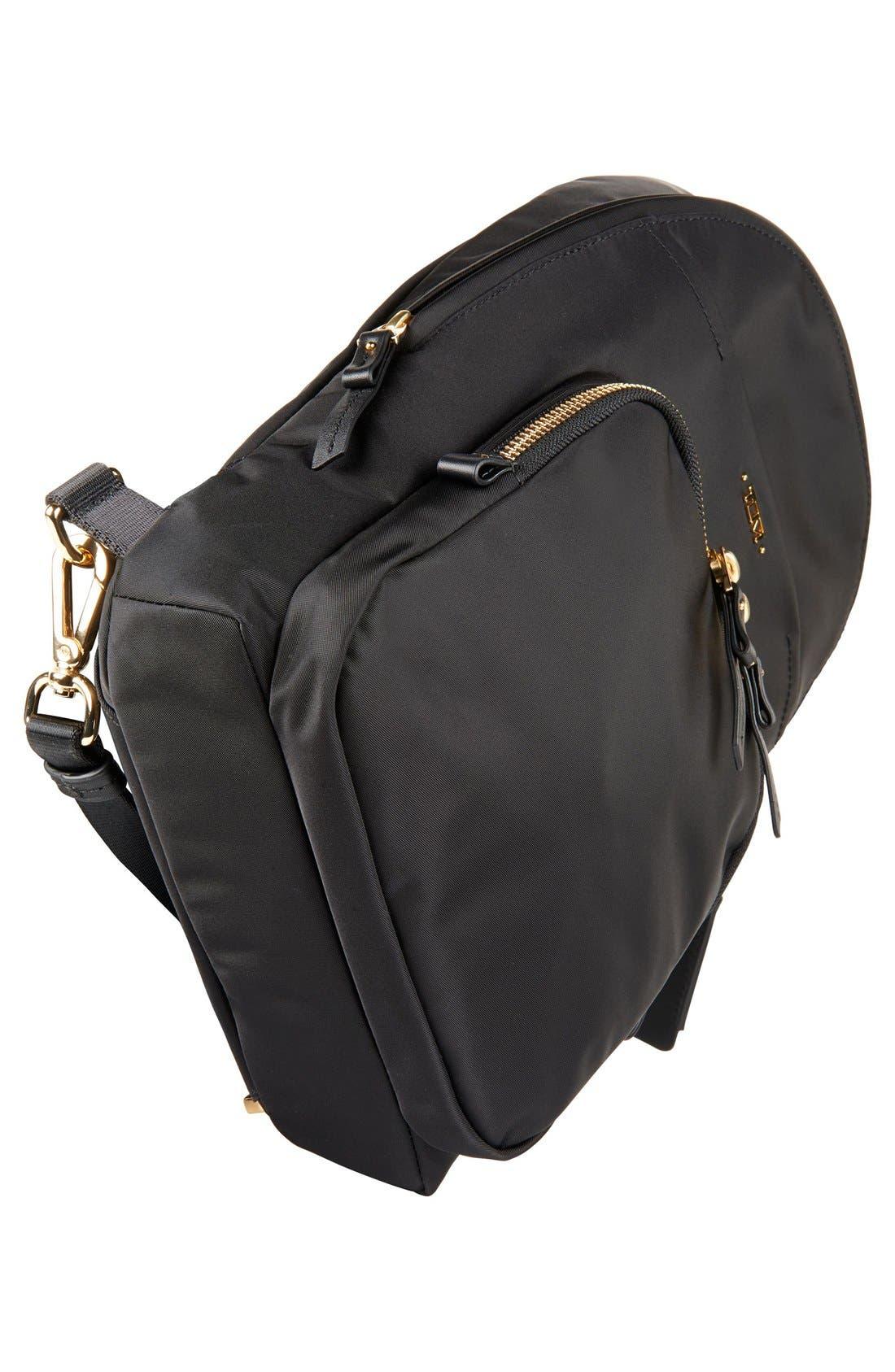 Nadia Convertible Backpack,                             Alternate thumbnail 5, color,                             Black