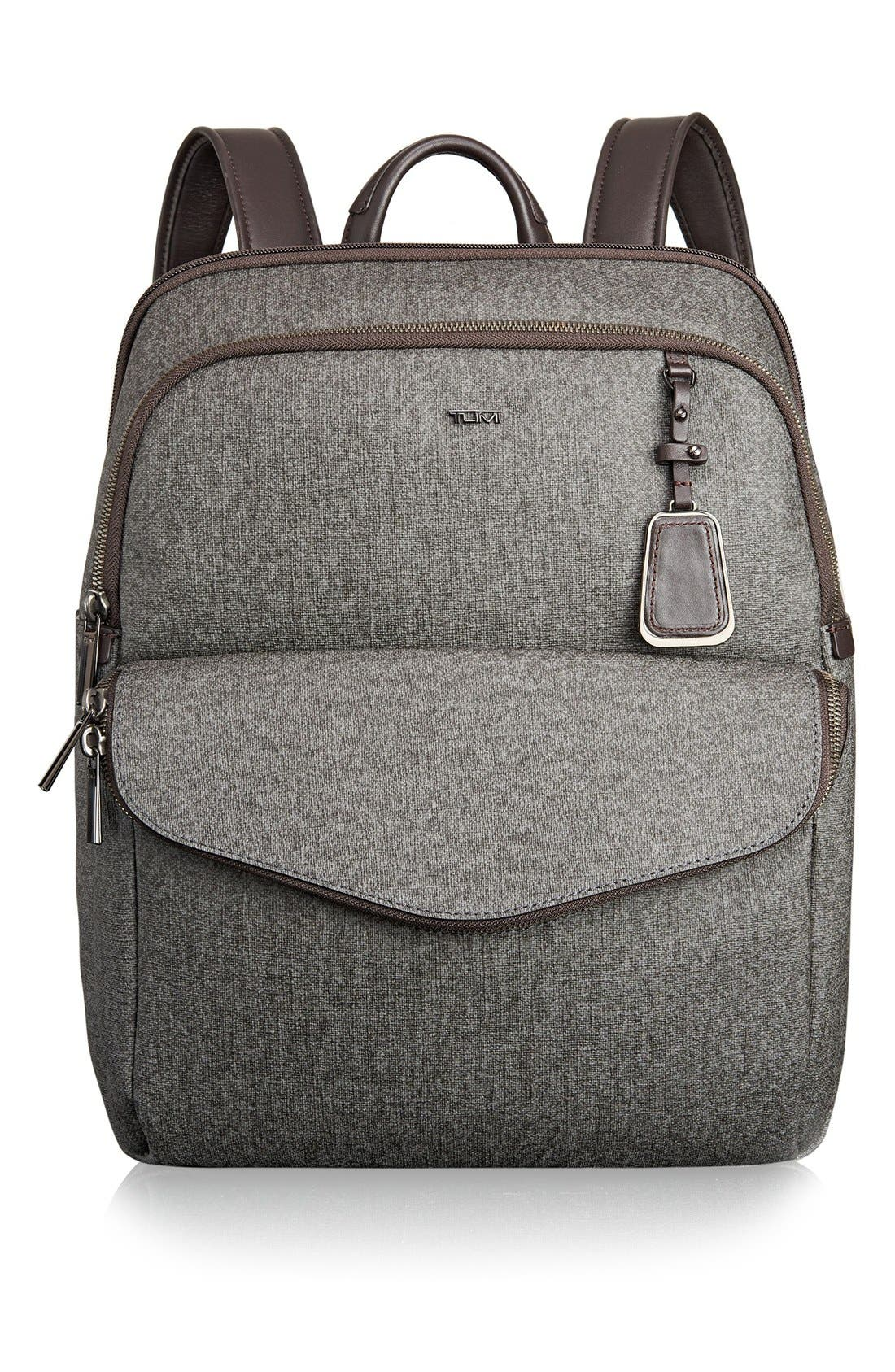Main Image - Tumi 'Sinclair Harlow' Coated Canvas Laptop Backpack