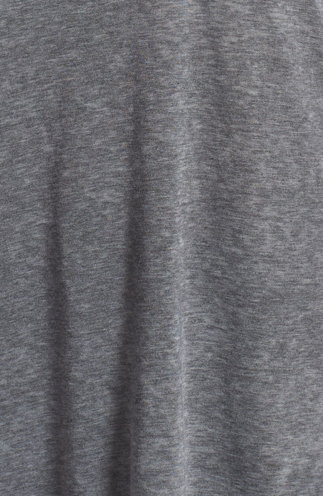 'Gotta Have It' V-Neck Tee,                             Alternate thumbnail 5, color,                             Charcoal