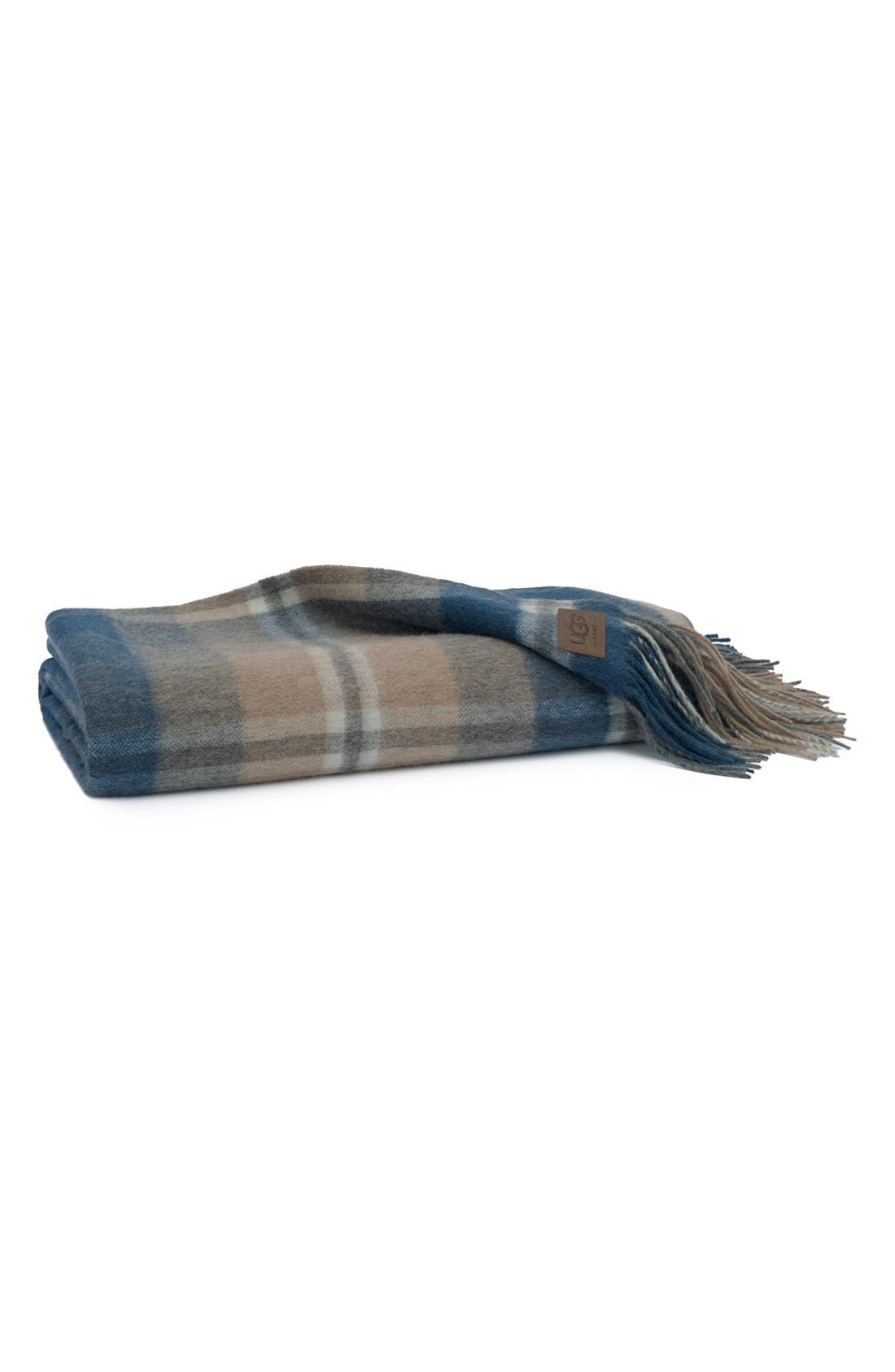 UGG® Glacier Plaid Throw