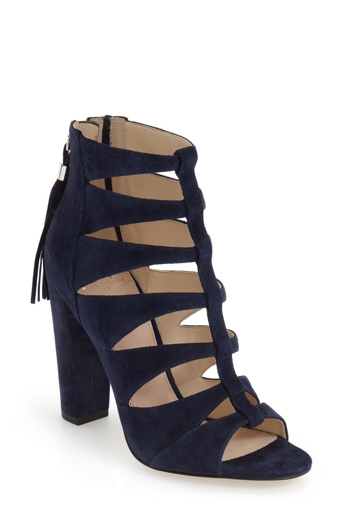 Alternate Image 1 Selected - Marc Fisher LTD 'Hindera' Gladiator Sandal (Women)