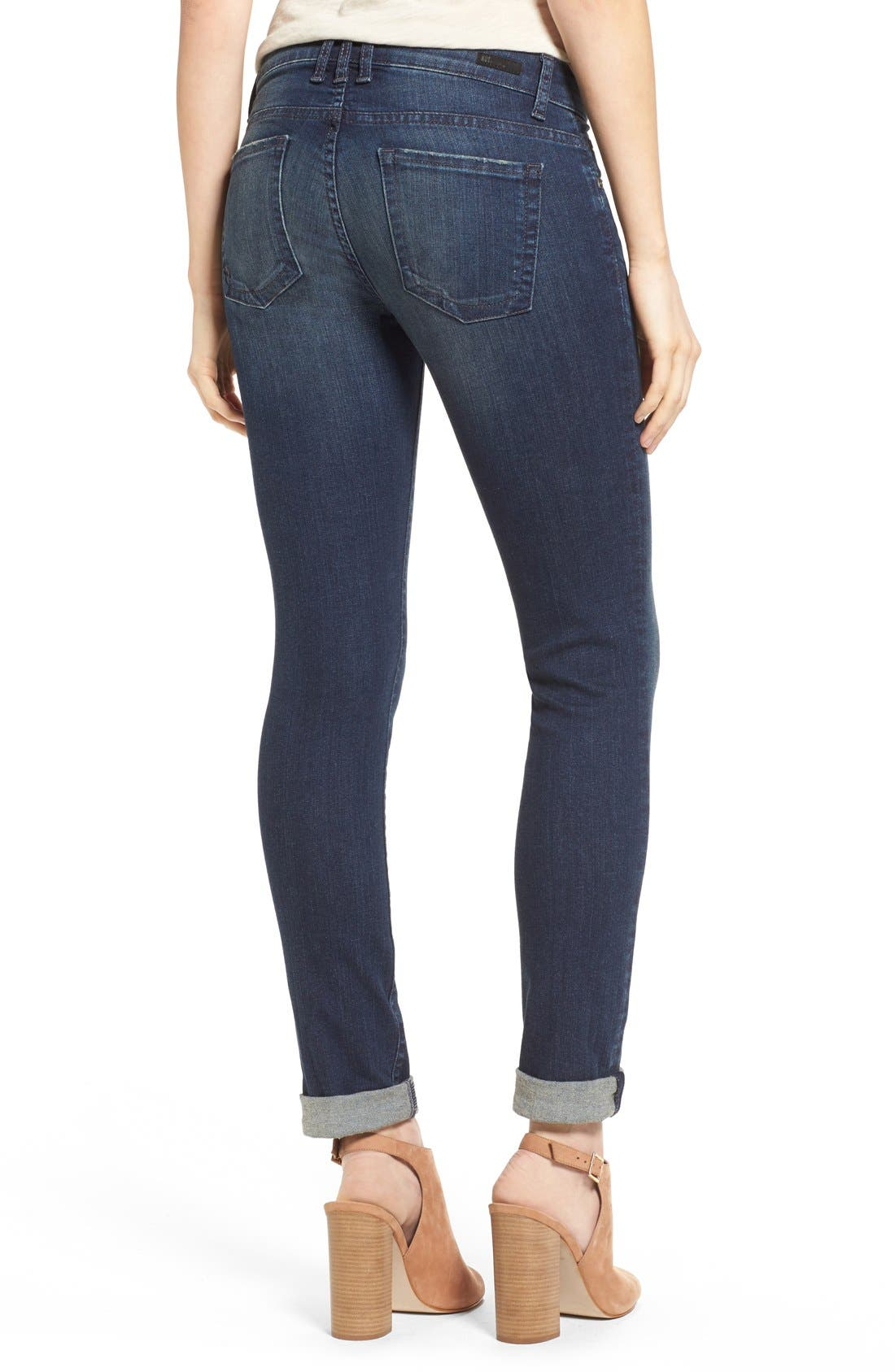'Catherine' Slim Boyfriend Jeans,                             Alternate thumbnail 2, color,                             Carefulness