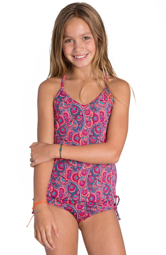 Billabong Paisley Party Two Piece Tankini Swimsuit