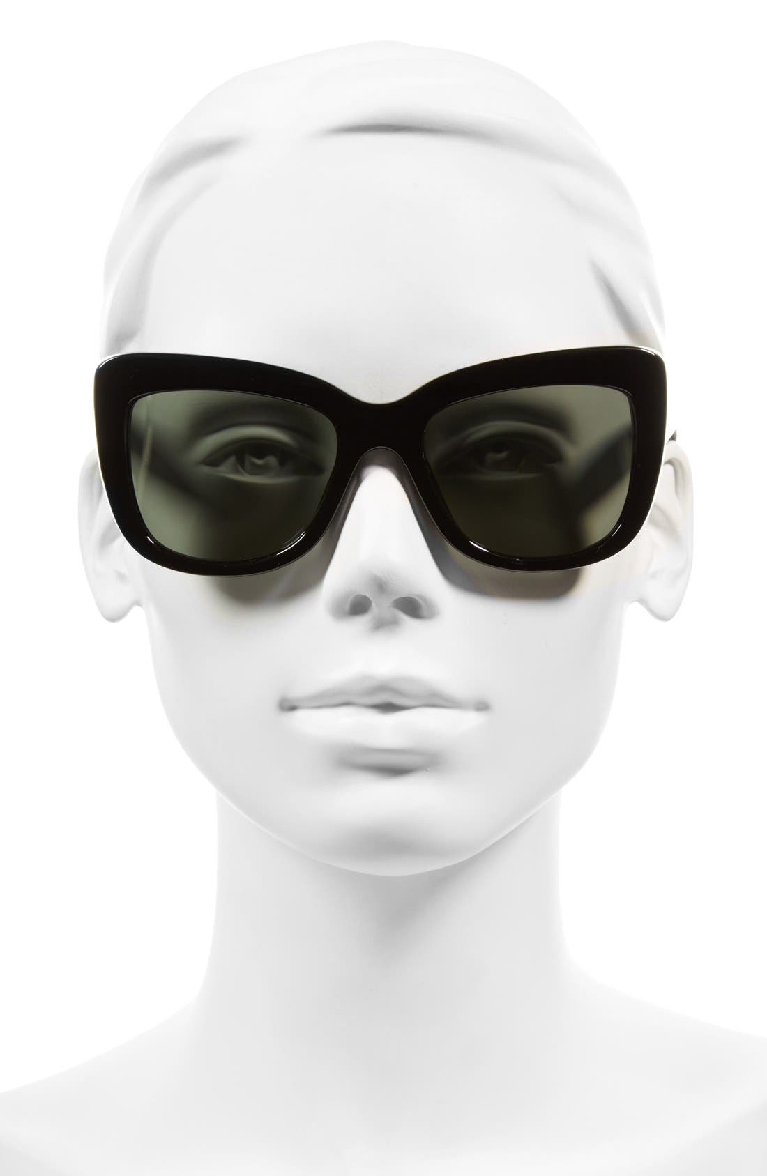 Alternate Image 2  - A.J. Morgan 'Lift' 50mm Cat Eye Sunglasses