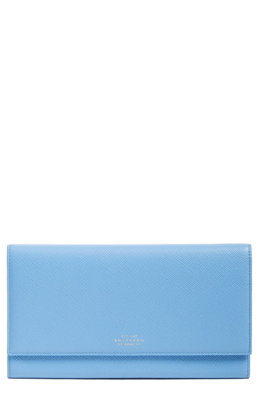 'Panama Marshall' Travel Wallet,                             Main thumbnail 1, color,                             Nile Blue