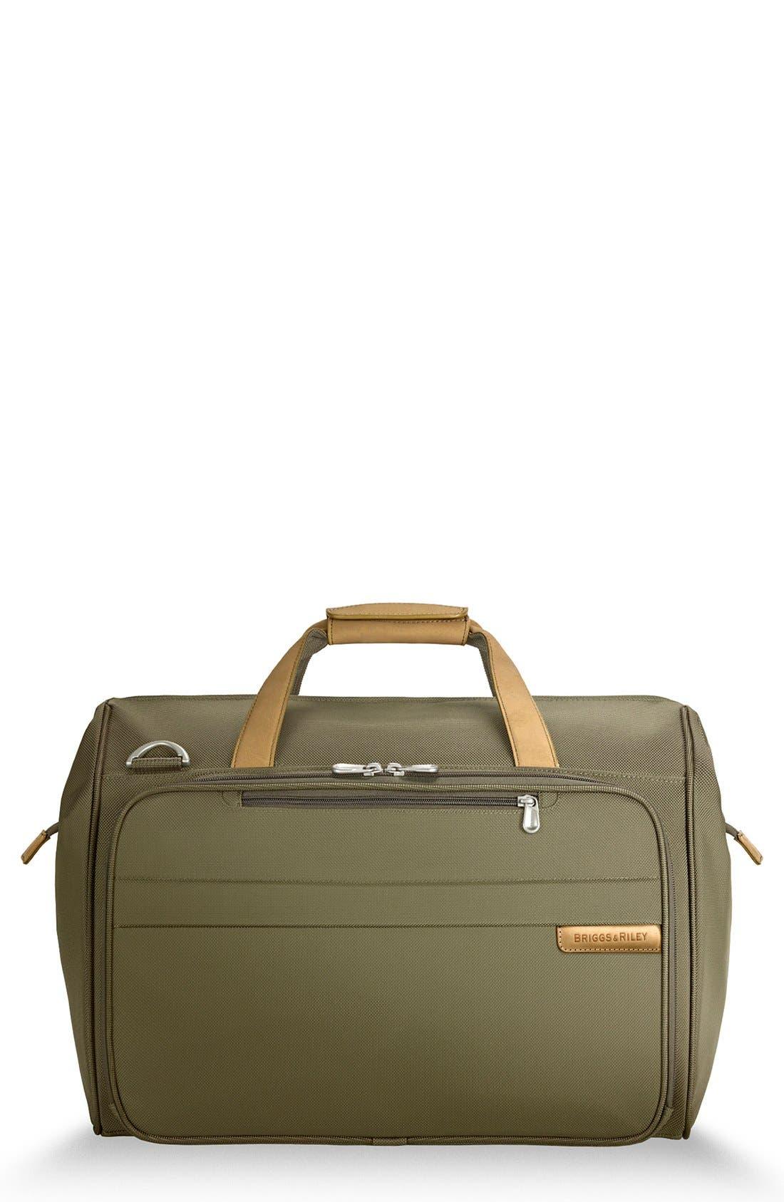 'Baseline' Duffel Bag,                             Main thumbnail 1, color,                             Olive Green