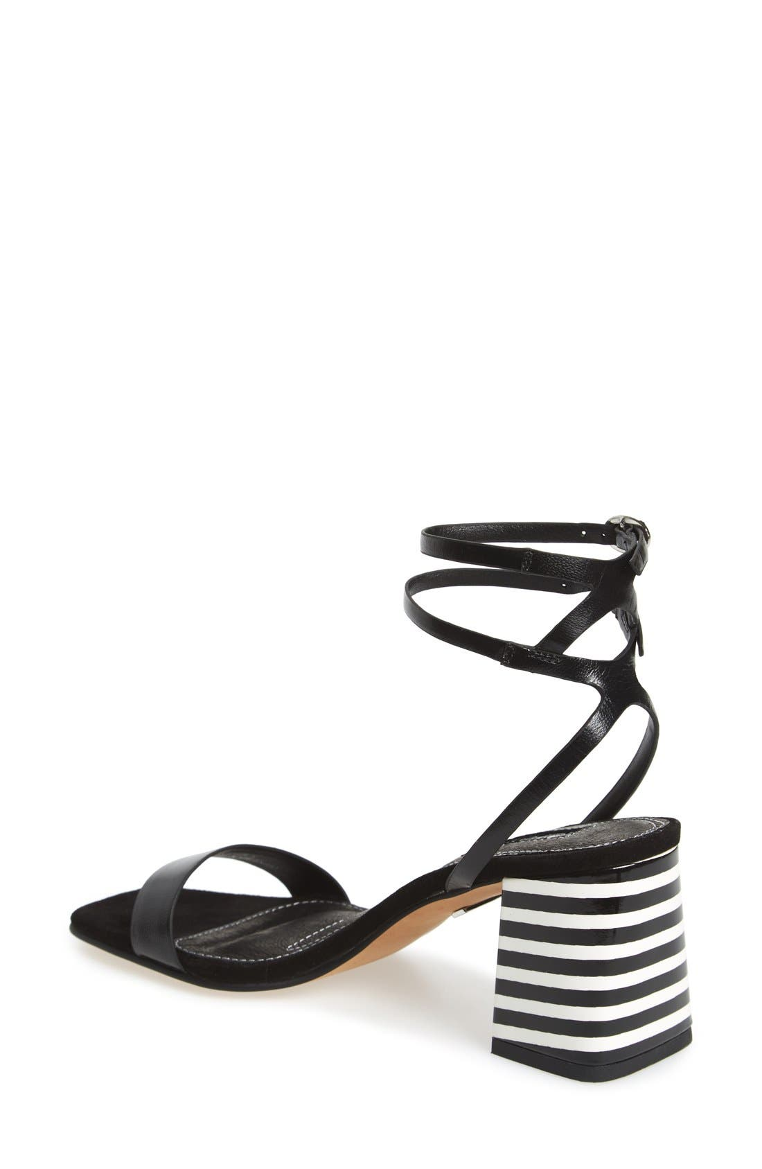 Alternate Image 2  - Topshop 'Nipper' Ankle Wrap Sandal (Women)