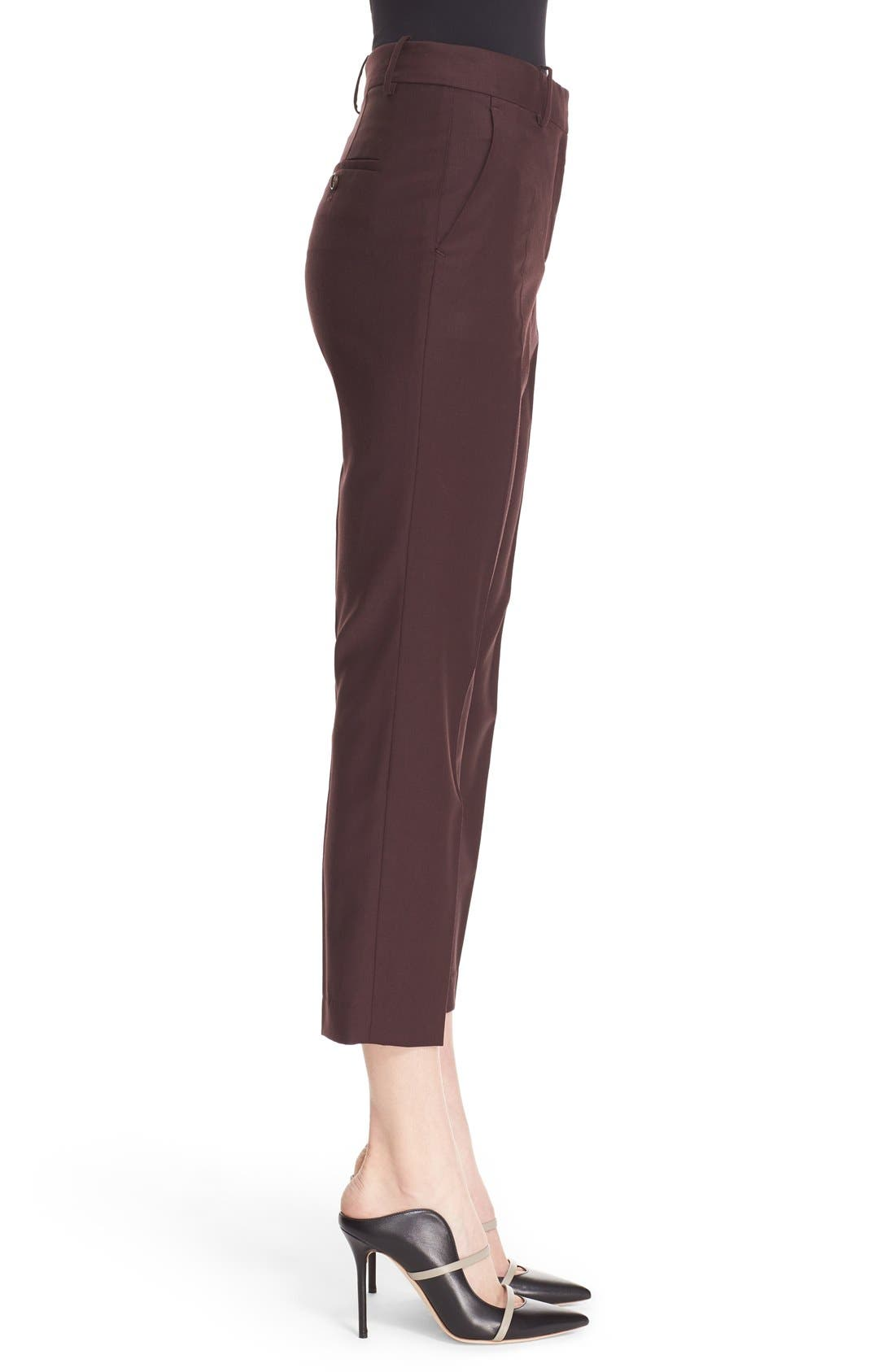 Alternate Image 3  - Theory 'Treeca Continuous' Wool Blend Cigarette Pants