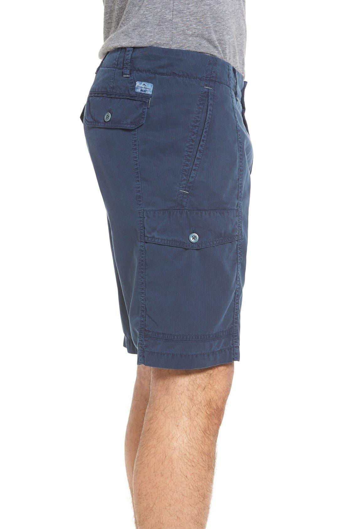 'Beachfront Kihei' Cargo Shorts,                             Alternate thumbnail 2, color,                             Navy