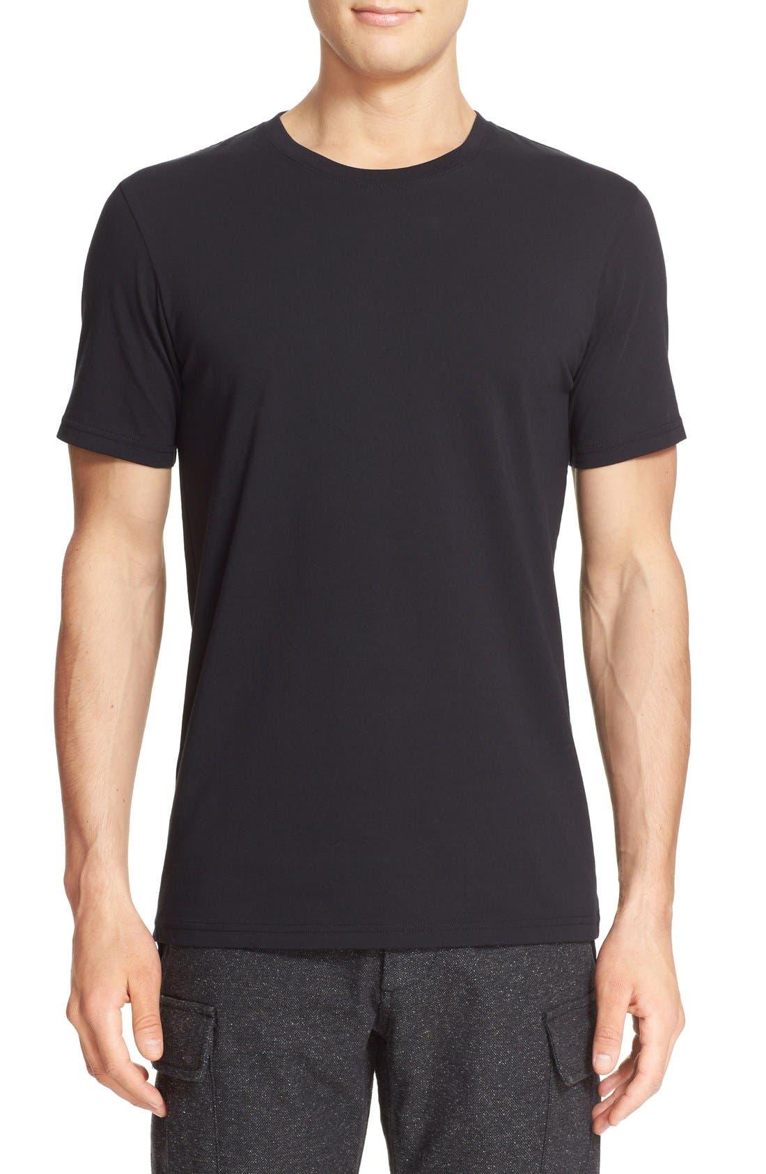 wings + horns Short Sleeve Crewneck T-Shirt