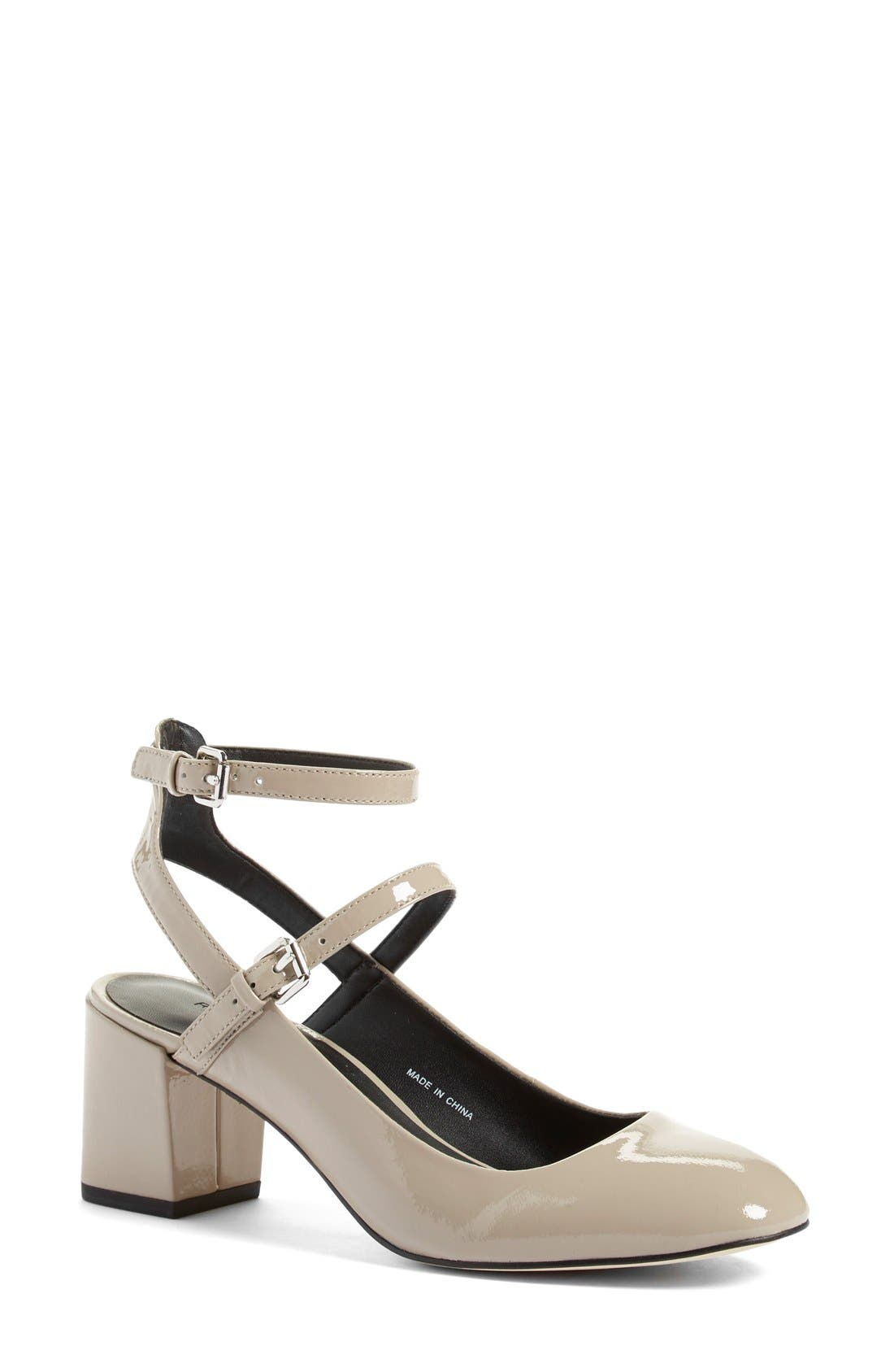 Rebecca Minkoff 'Brooke' Ankle Strap Pump (Women)