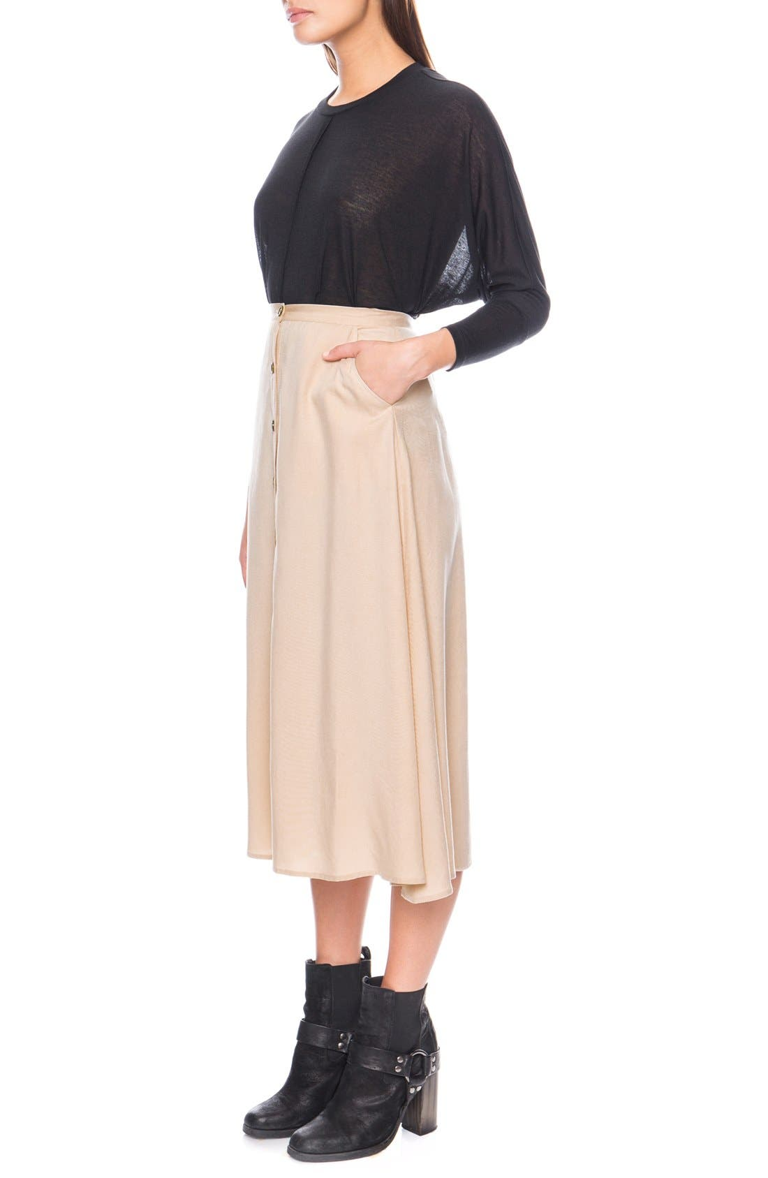 Alternate Image 3  - The Fifth Label 'Born Free' Midi Skirt