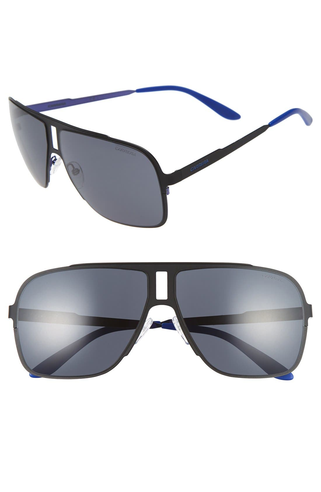 CARRERA EYEWEAR 121/S 62mm Aviator Sunglasses
