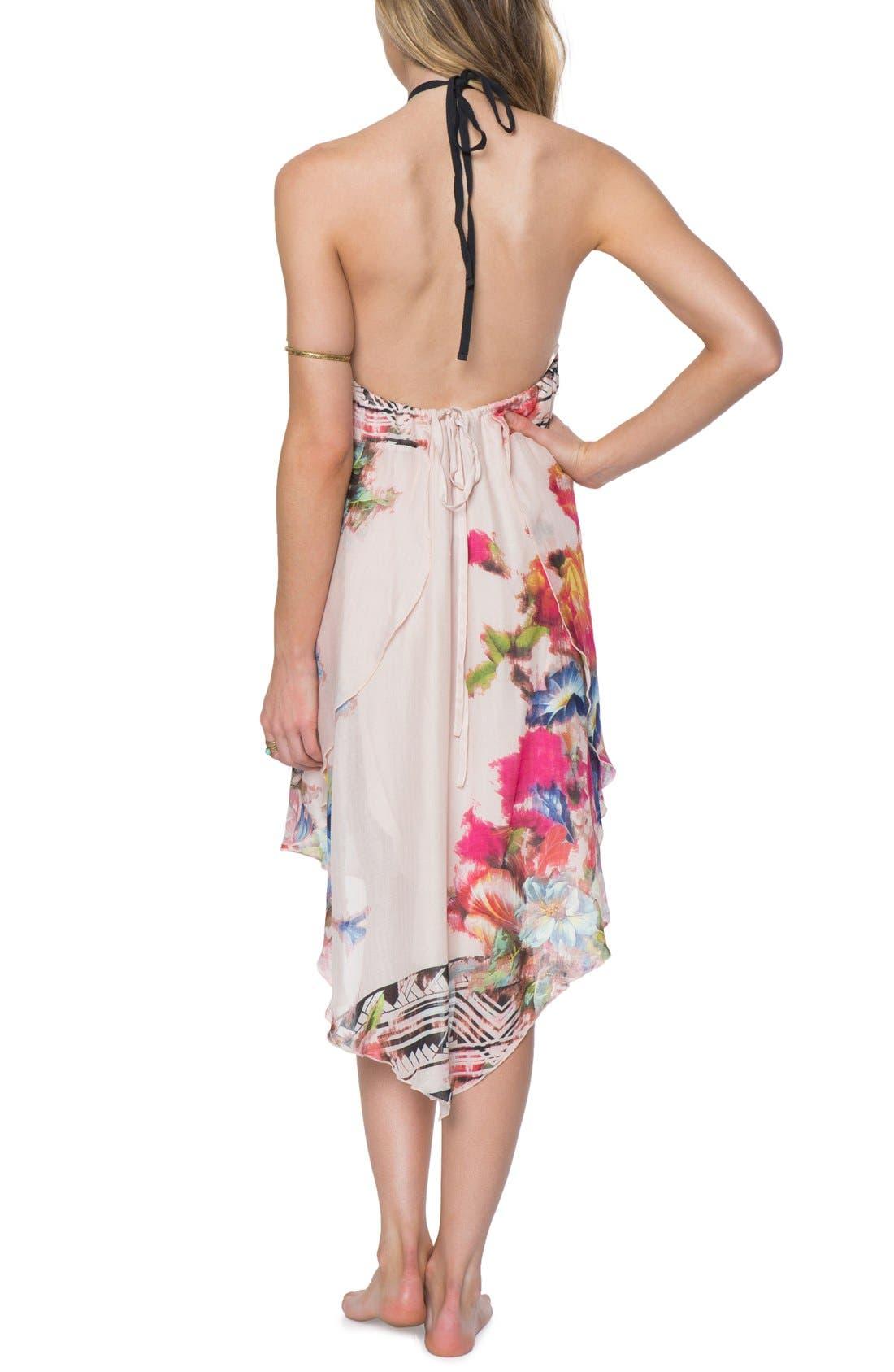Alternate Image 2  - O'Neill 'Rosette' Mixed Print Halter Dress