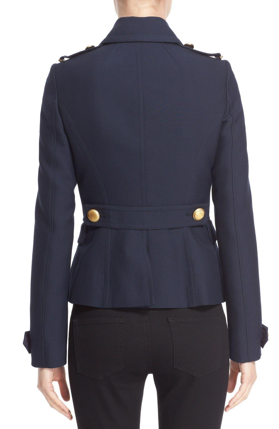 Alternate Image 2  - Burberry 'Drumfield' Twill Coat