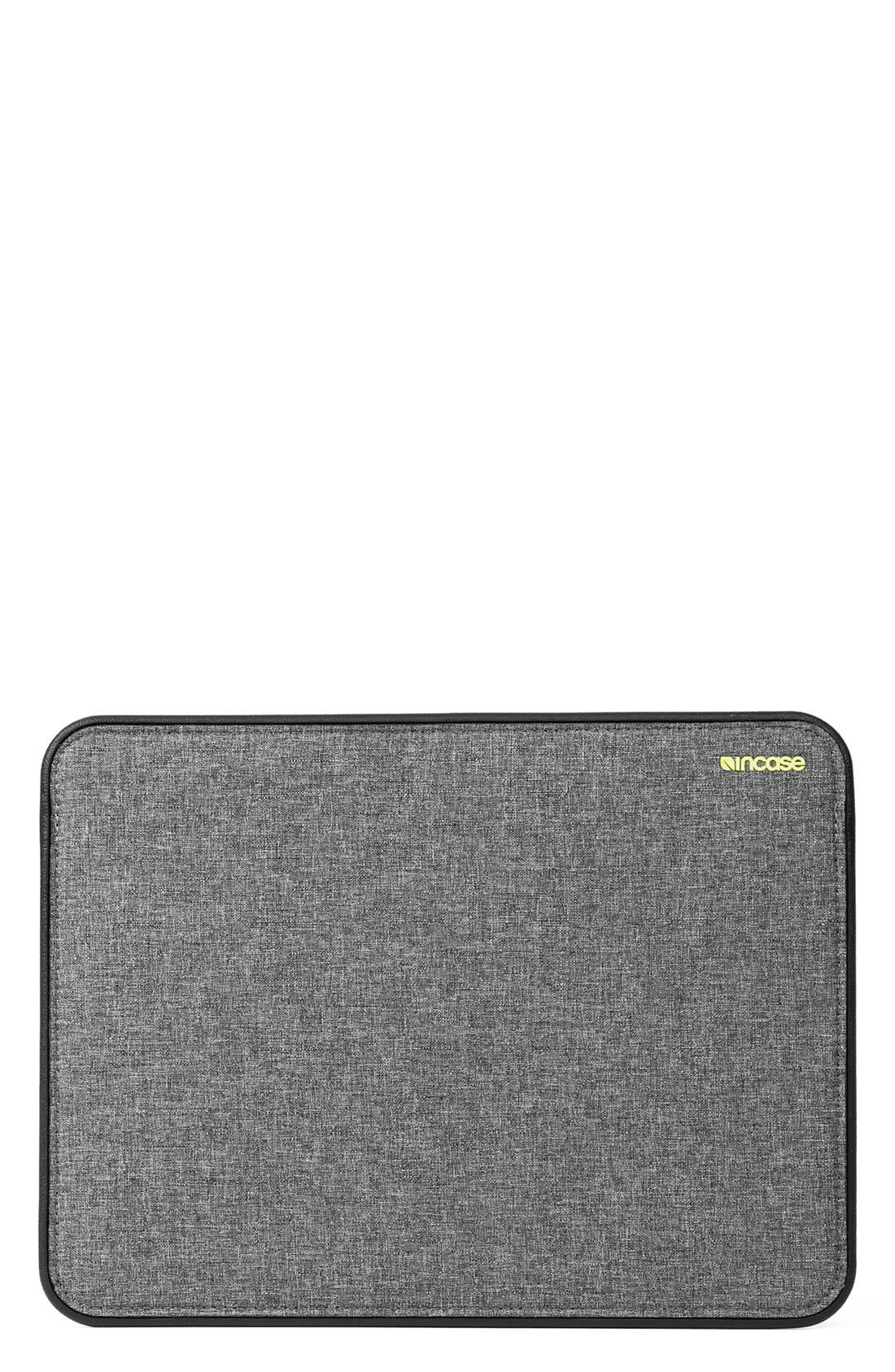 Alternate Image 1 Selected - Incase Designs 'Icon' MacBook Air Laptop Sleeve (13 Inch)
