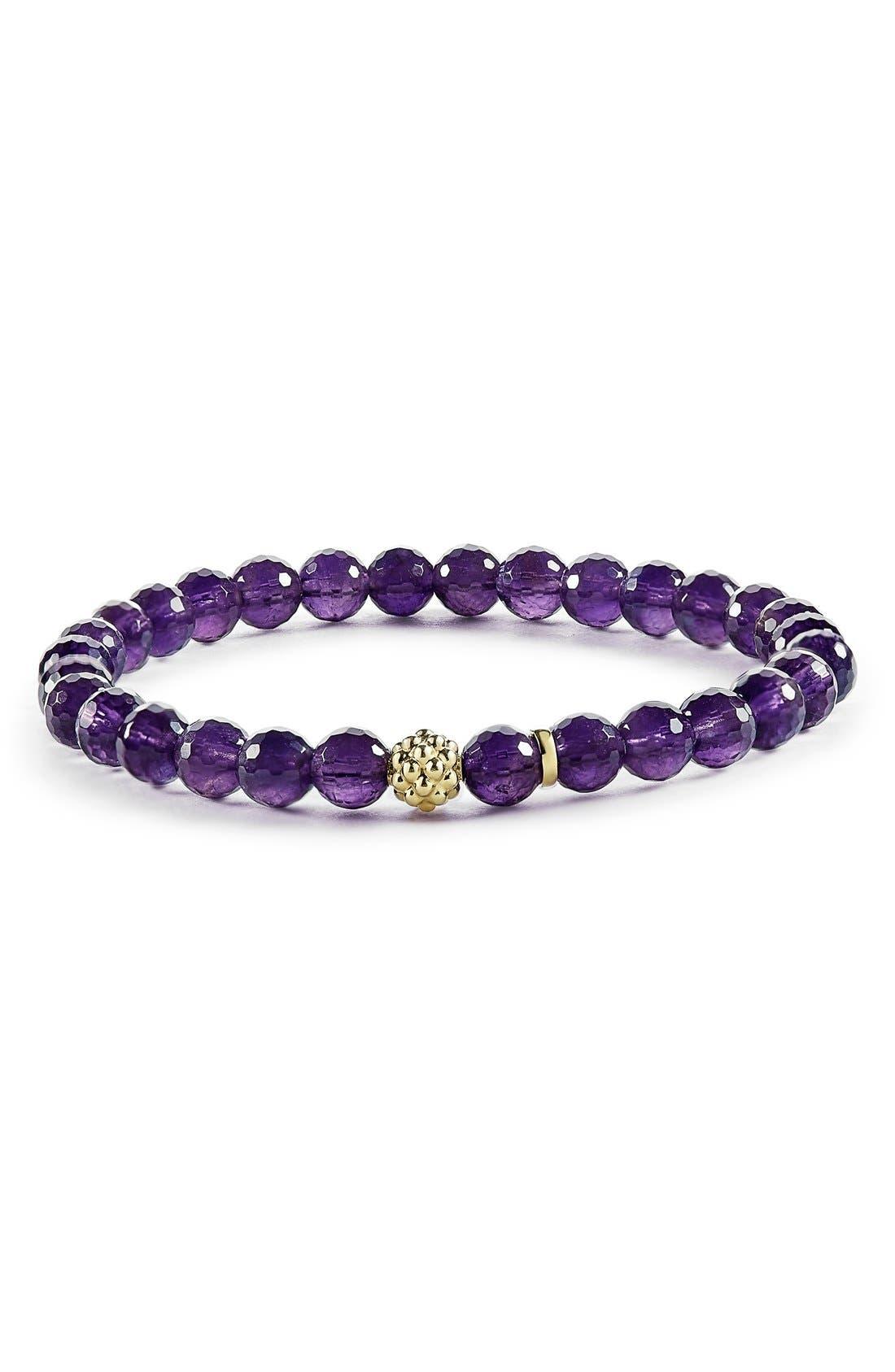LAGOS 'Caviar Icon' Semiprecious Stone Bracelet